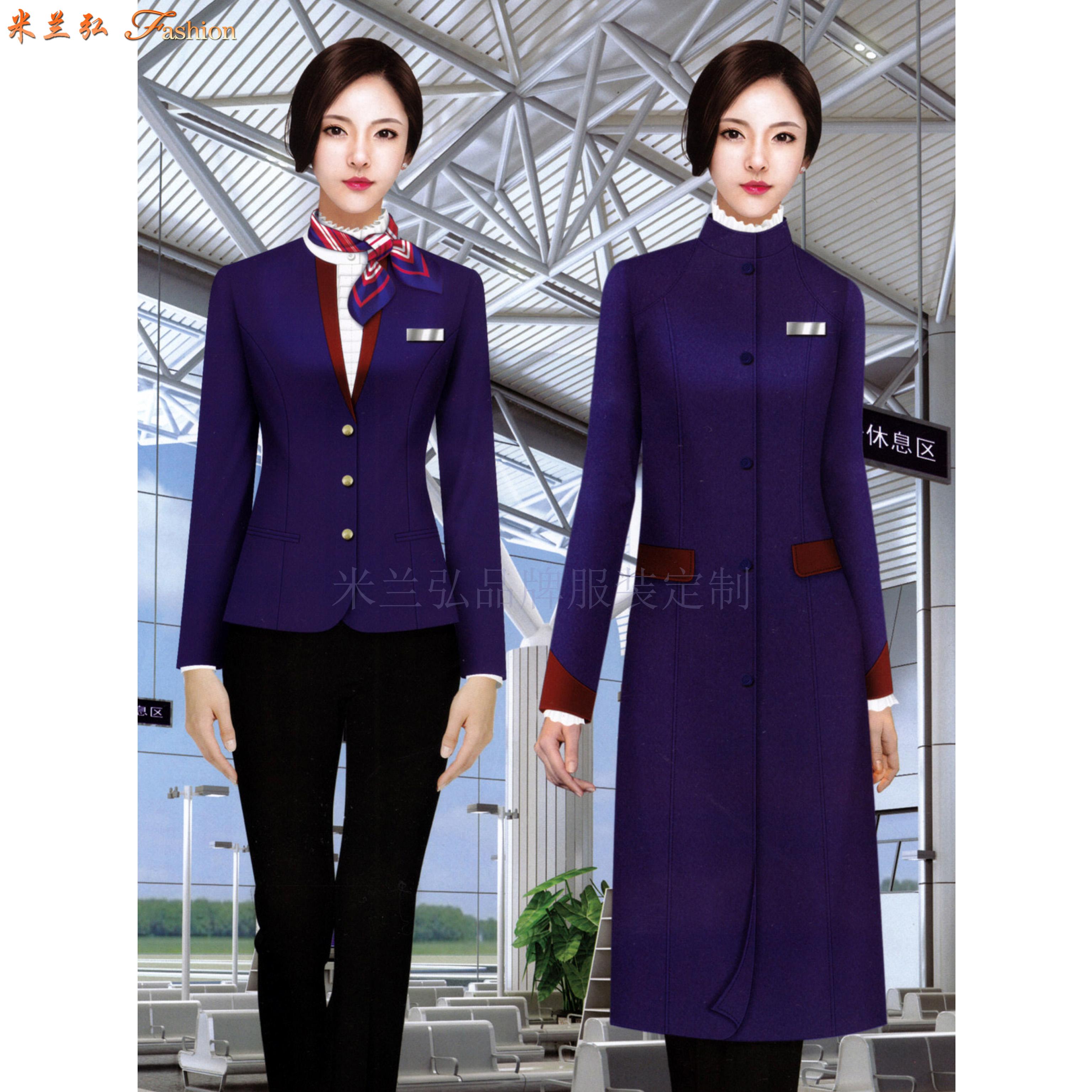 「高铁大衣」量体定做高铁乘务员男女保暖羊毛大衣-米兰弘服装-4