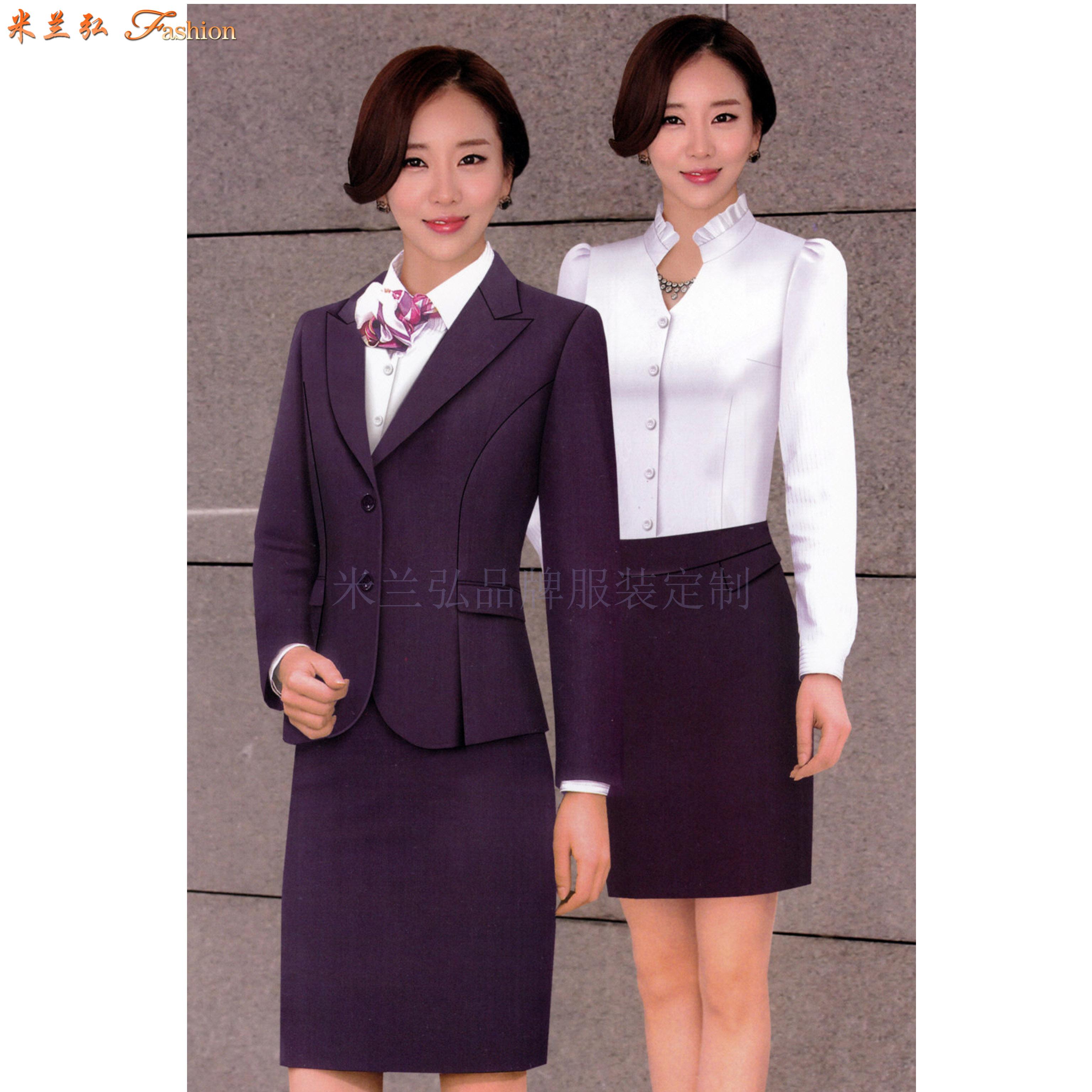 「航空職業裝」北京貨真價實航空職業裝訂做公司-米蘭弘服裝-1