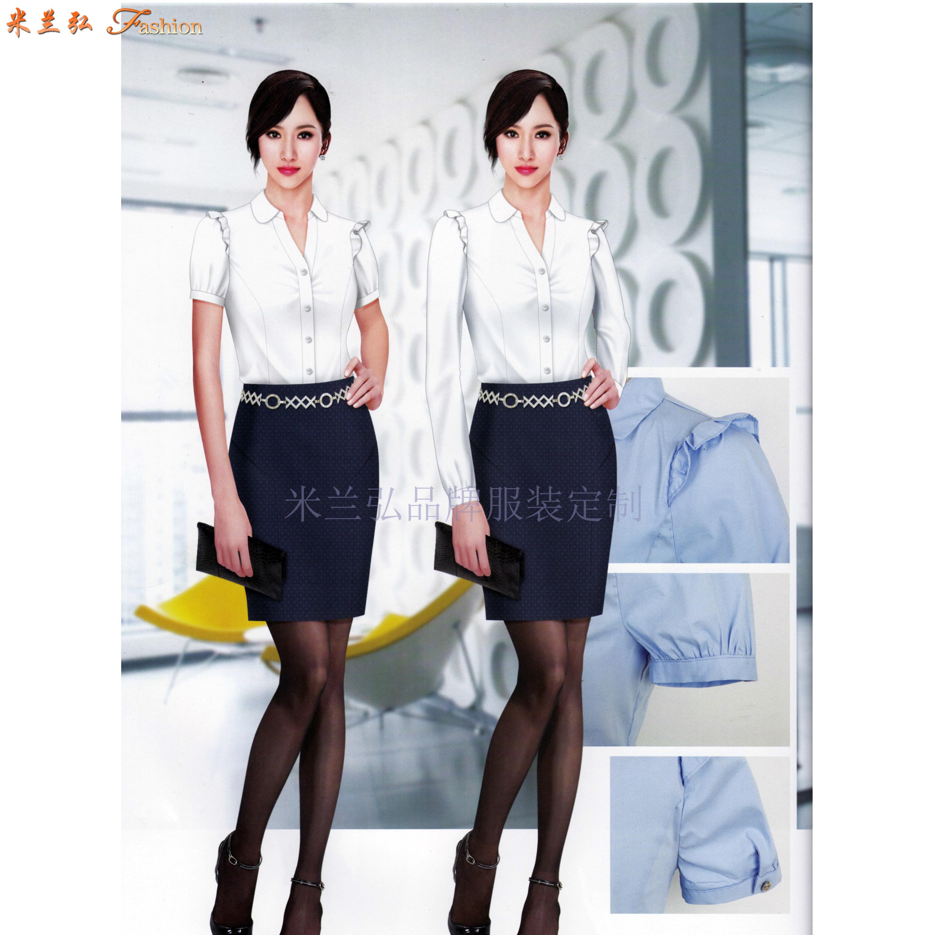 「北京女式襯衫定制」「北京女士襯衫訂做」-米蘭弘服裝-4