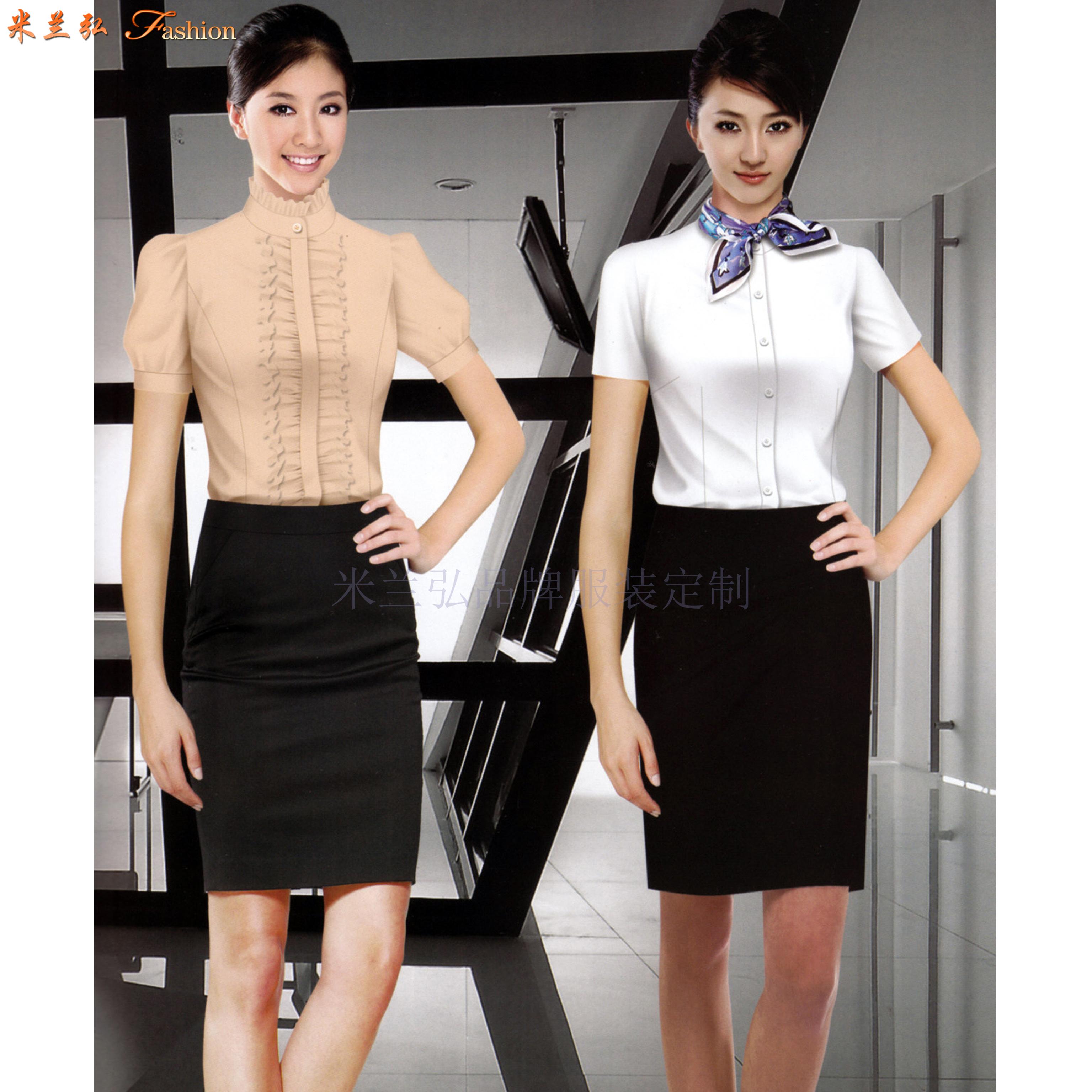 「上班衬衣定制」免费量体-推荐厂家直供米兰弘品牌服装-3