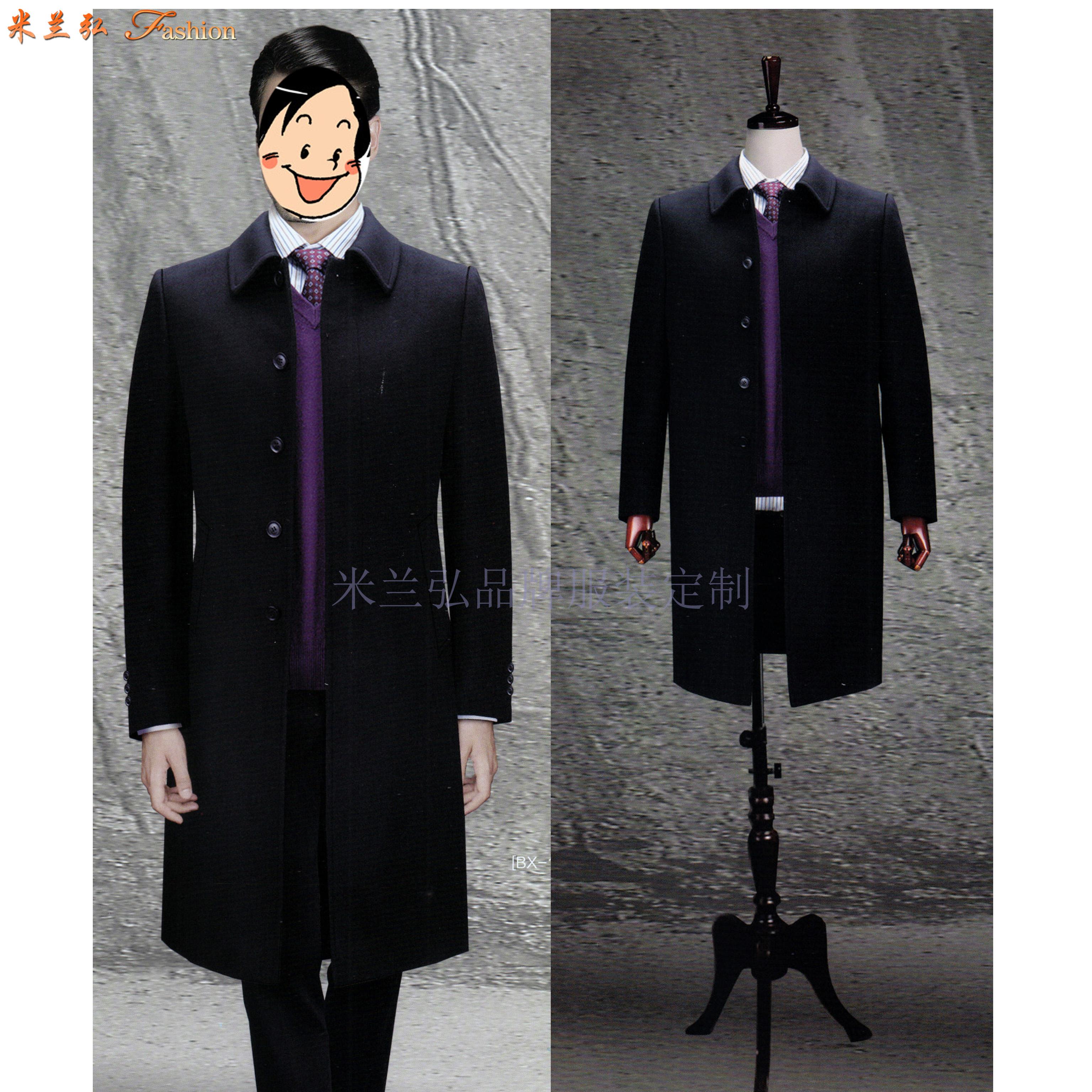 「河北大衣定制」「保定市大衣订做」推荐厚实暖和米兰弘服装-2