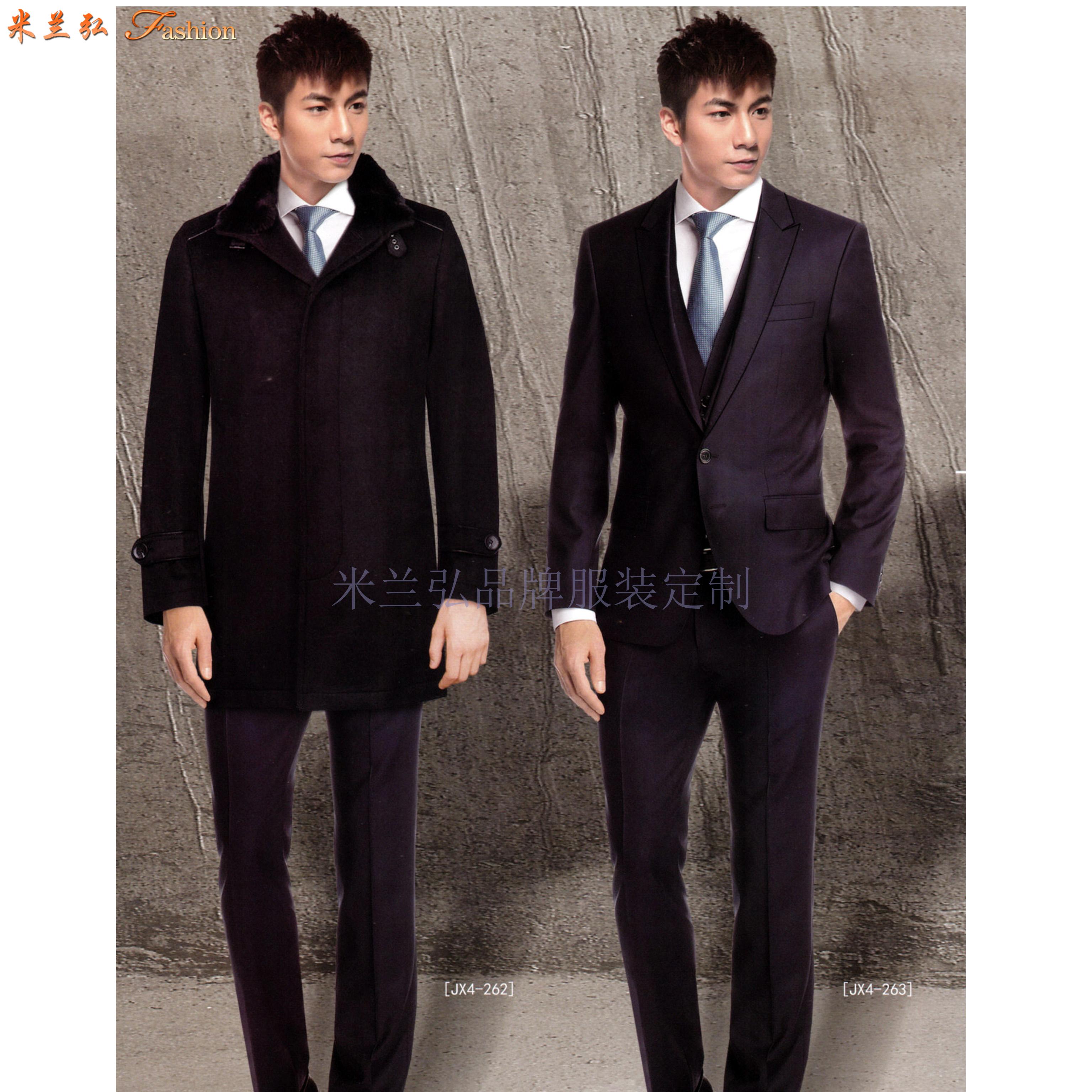 「河北大衣定制」「保定市大衣订做」推荐厚实暖和米兰弘服装-4