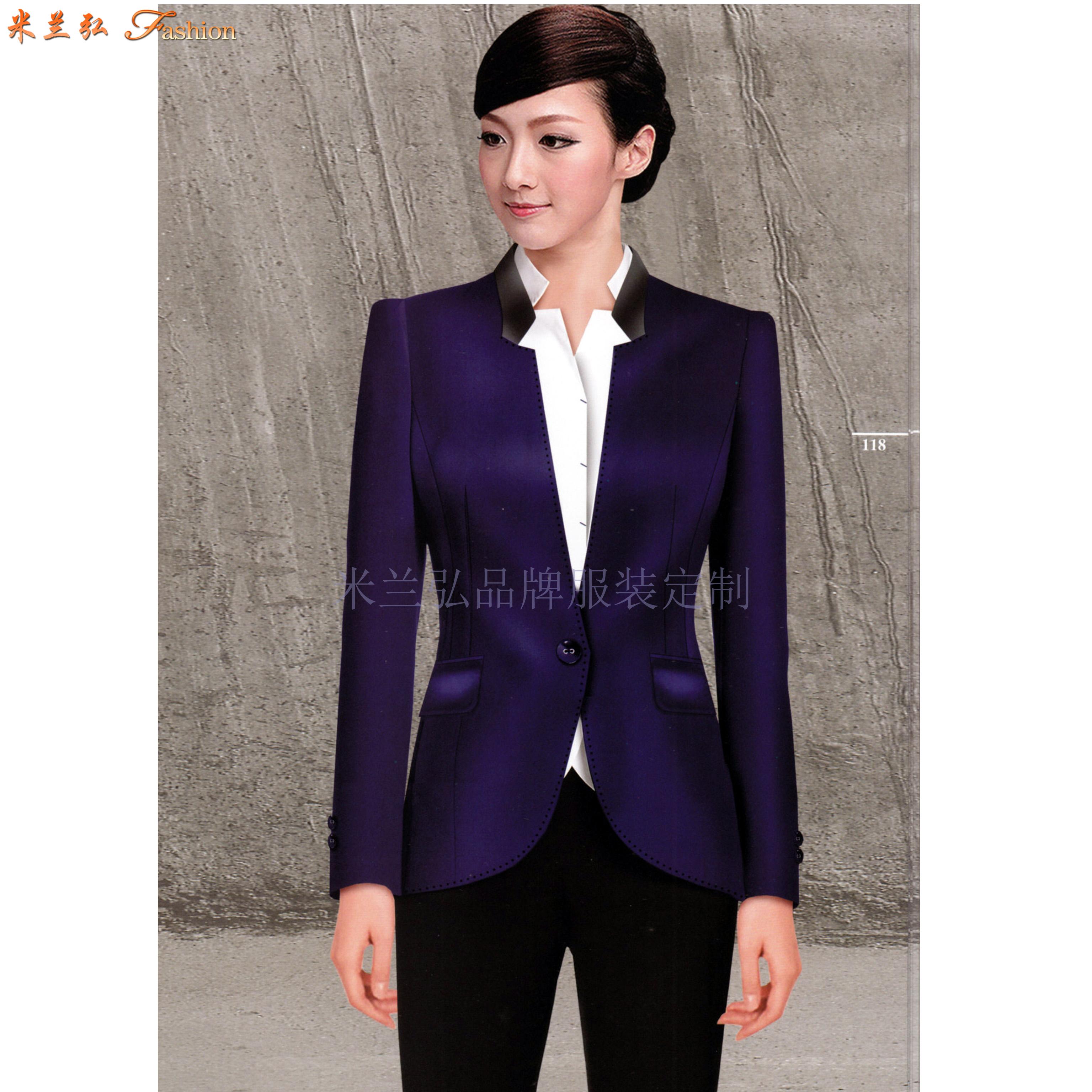 「河北職業裝」廊坊市量身訂做時尚職業裝廠家-米蘭弘服裝-5