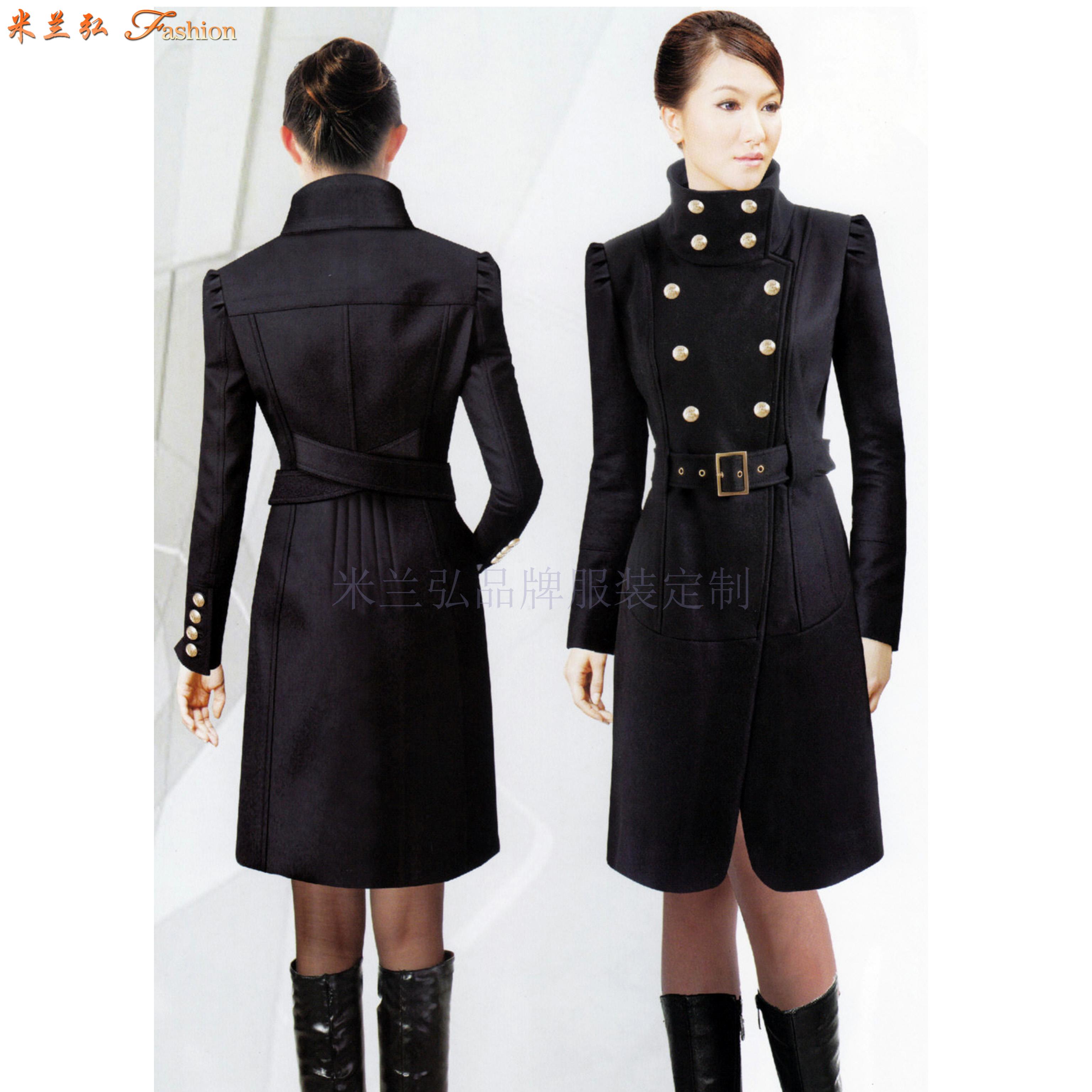 「濱州市大衣」濱州市貨真價實羊毛大衣定做廠家-米蘭弘服裝-2