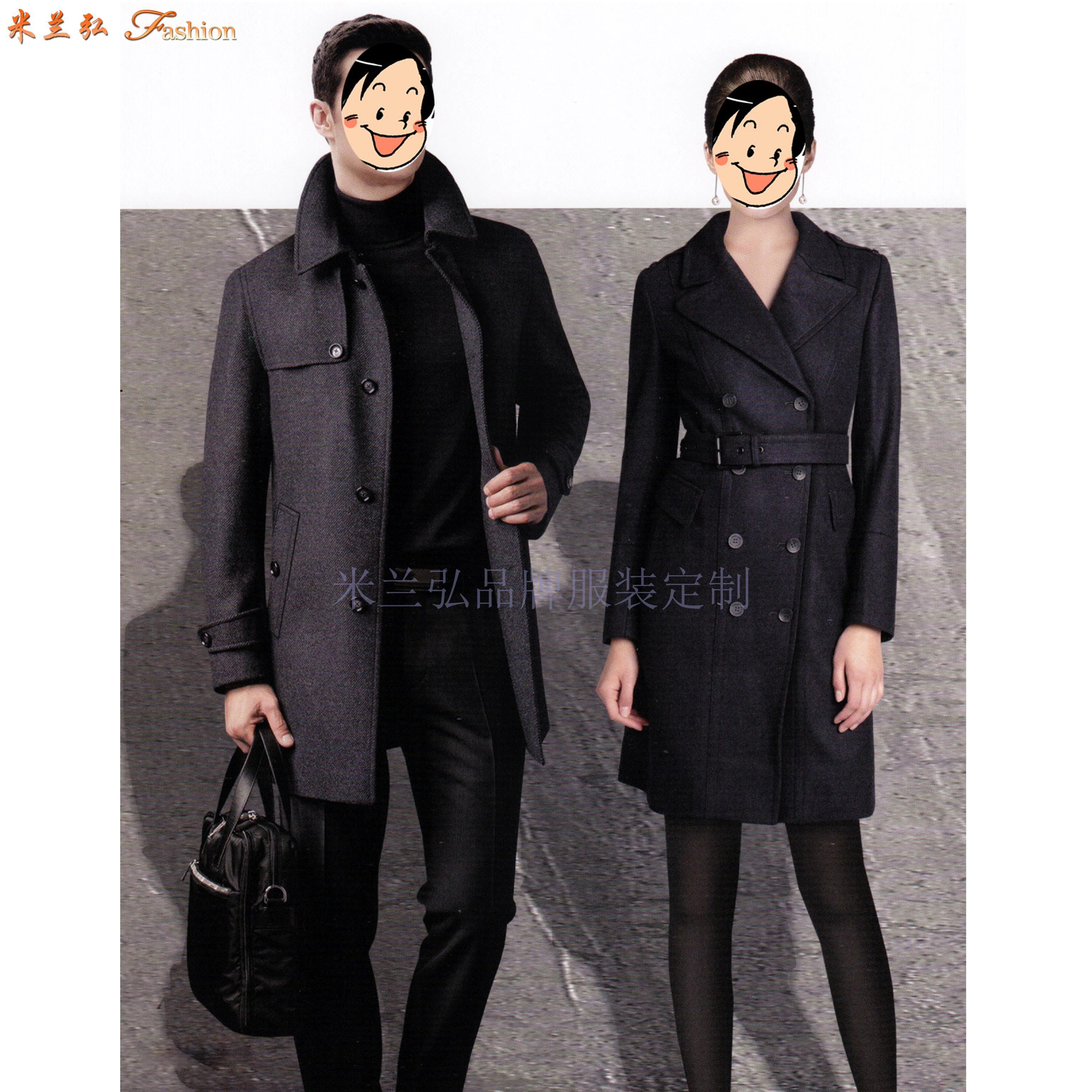 「濱州市大衣」濱州市貨真價實羊毛大衣定做廠家-米蘭弘服裝-5