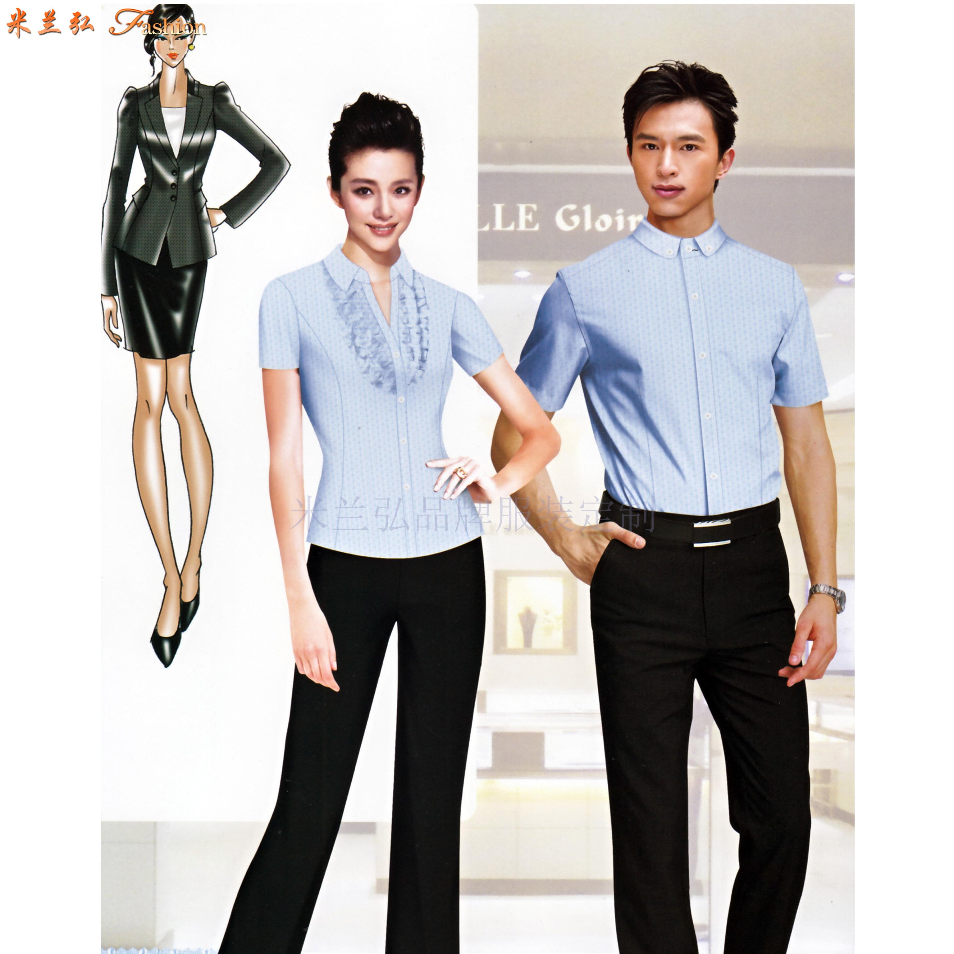 「山东衬衫定制」「济南市衬衫定做」性价比高衬衫-米兰弘服装-1