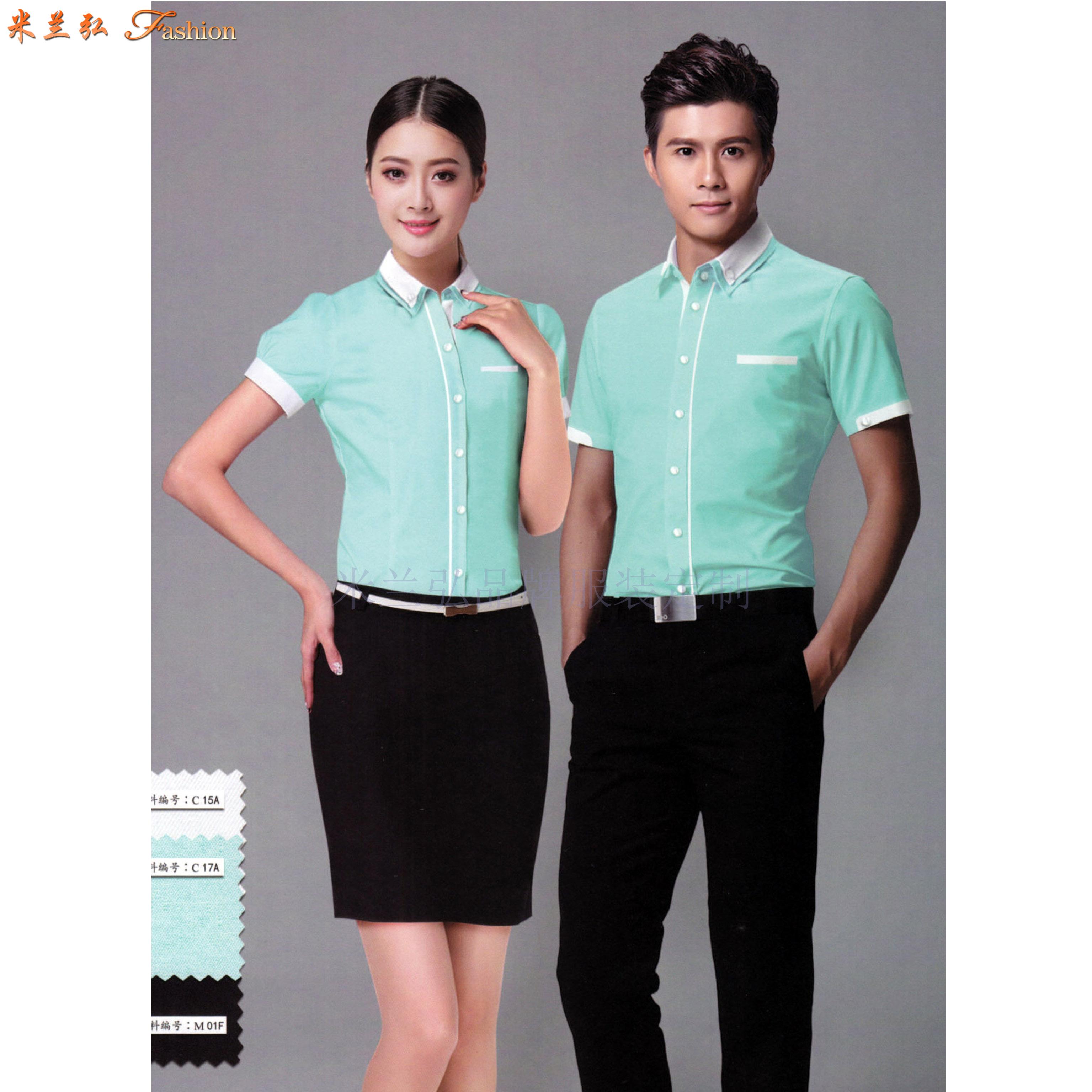 「山东衬衫定制」「济南市衬衫定做」性价比高衬衫-米兰弘服装-3