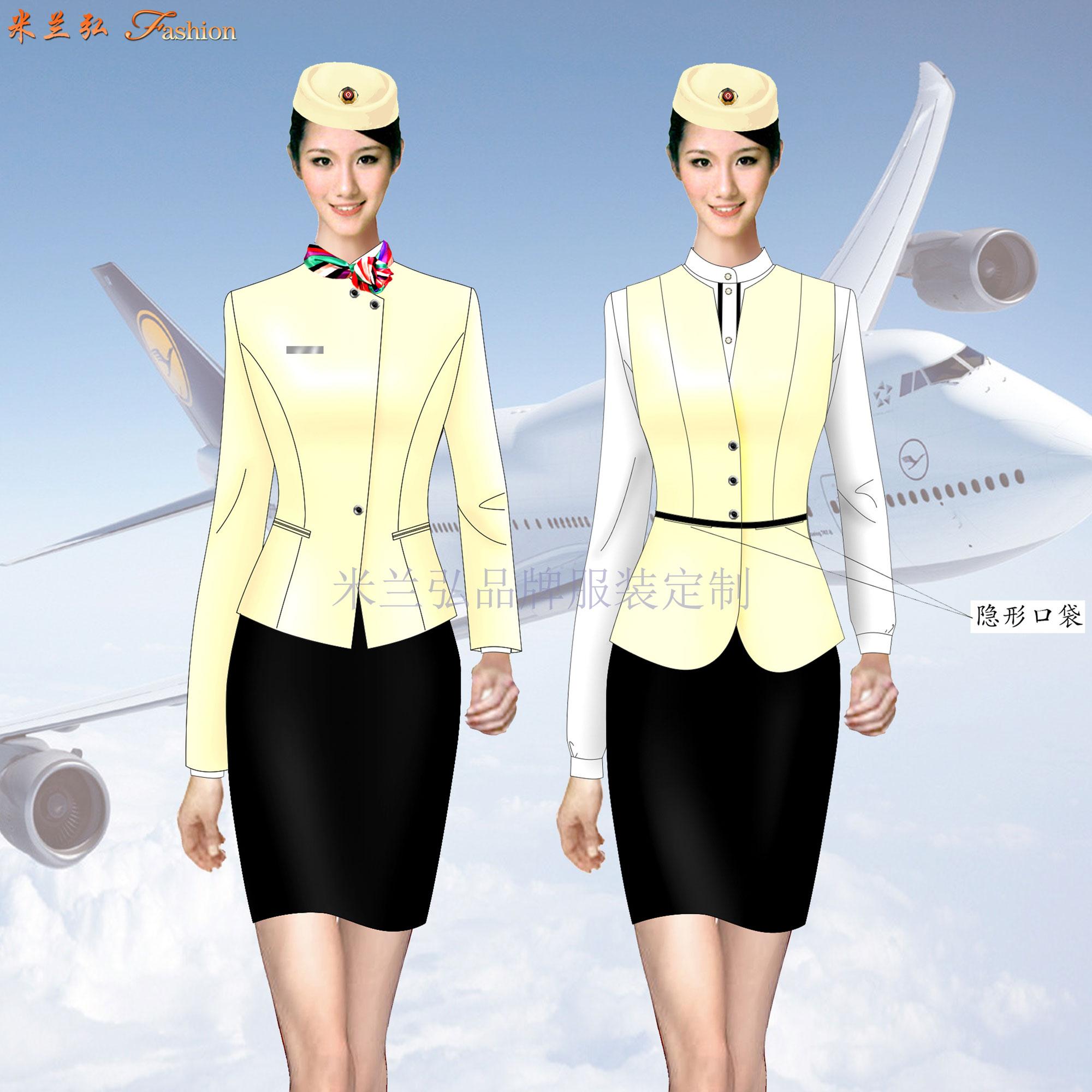 京津冀航空公司空姐服定制-推薦新穎潮流品牌-米蘭弘空姐服