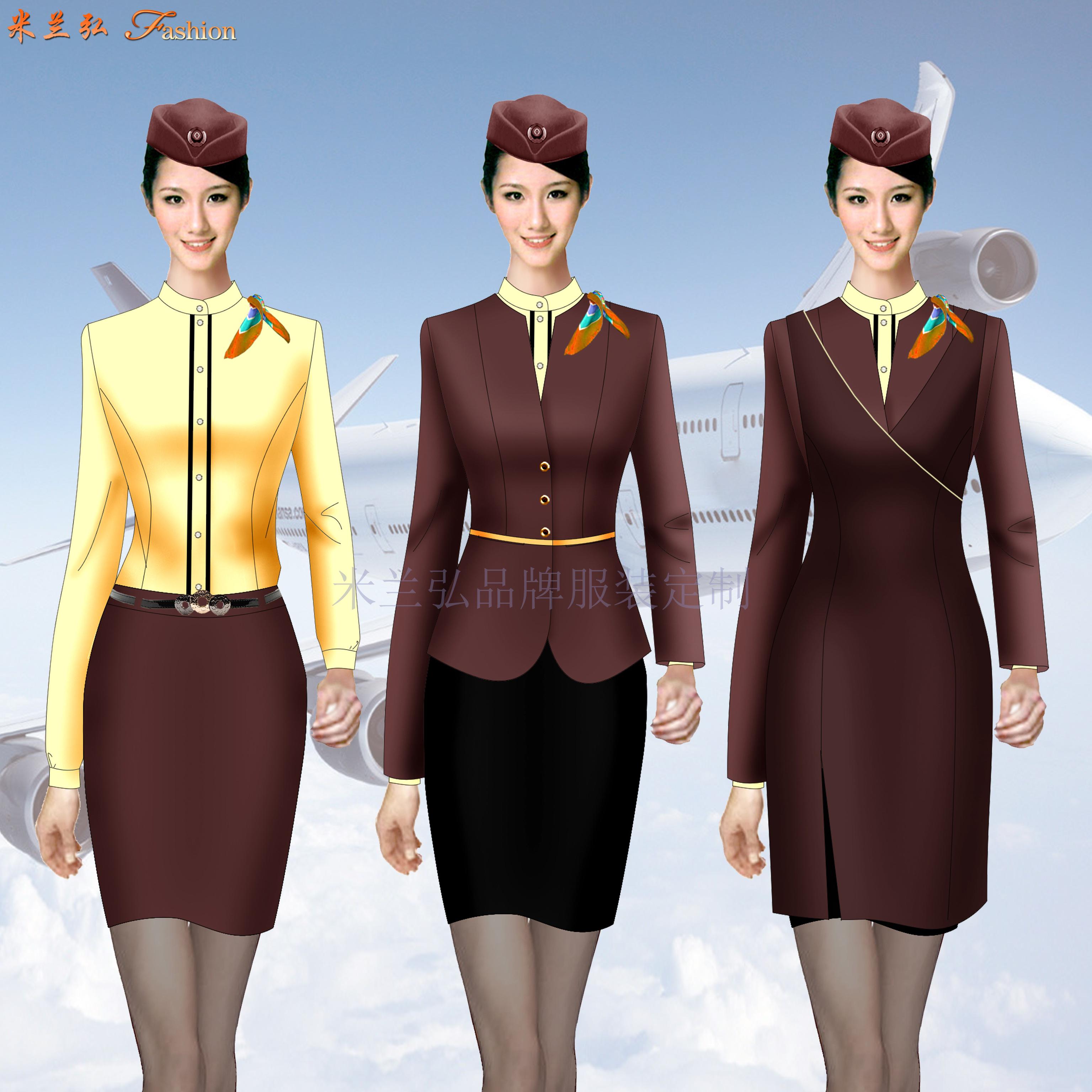 「遼寧空姐服定制」「沈陽空姐服定做」米蘭弘空姐服-5