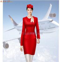 「哈尔滨空姐服定制」航空公司空姐服新款套装图片_价格_厂家