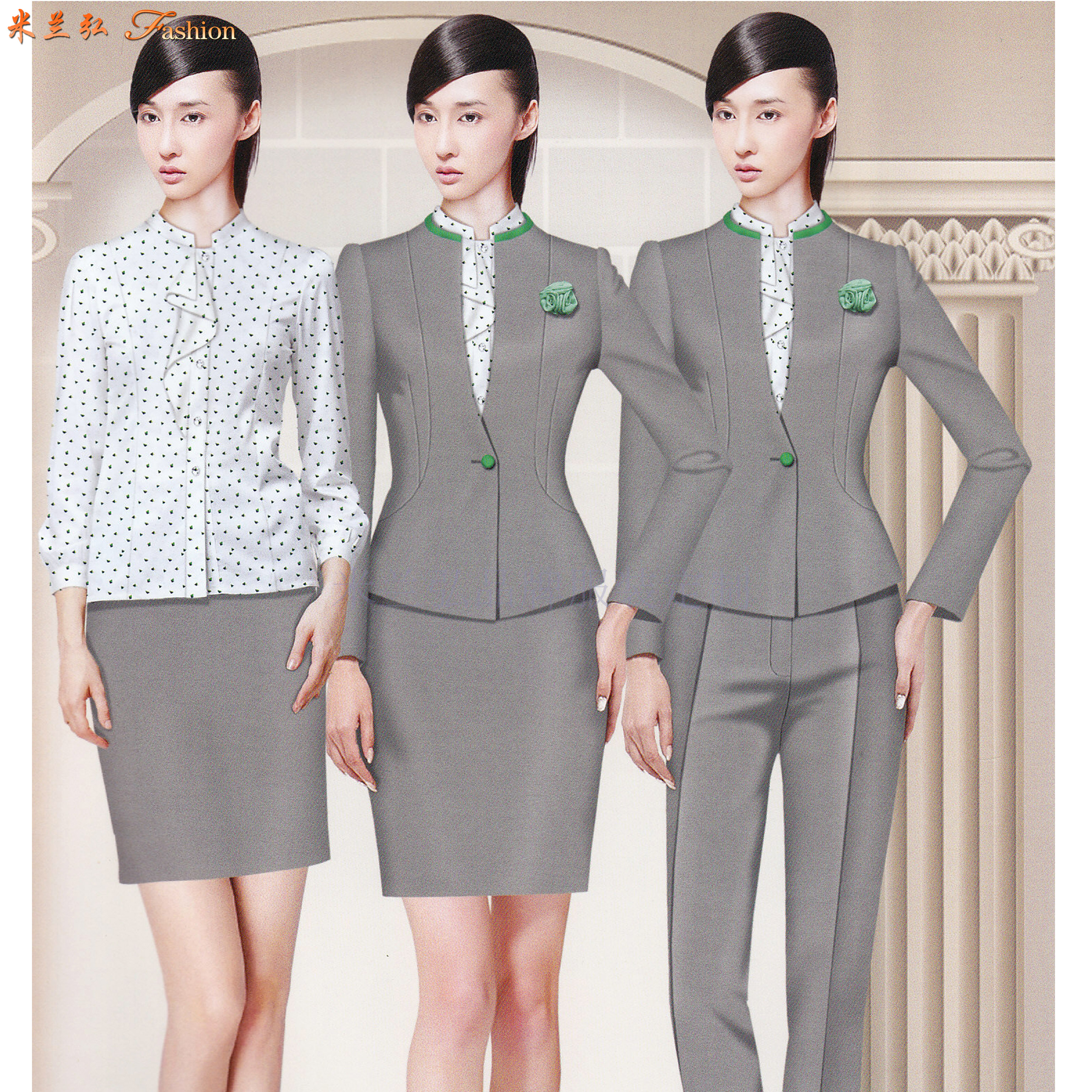「定制職業裝廠」北京量身定制職業裝廠家-米蘭弘職業裝-5