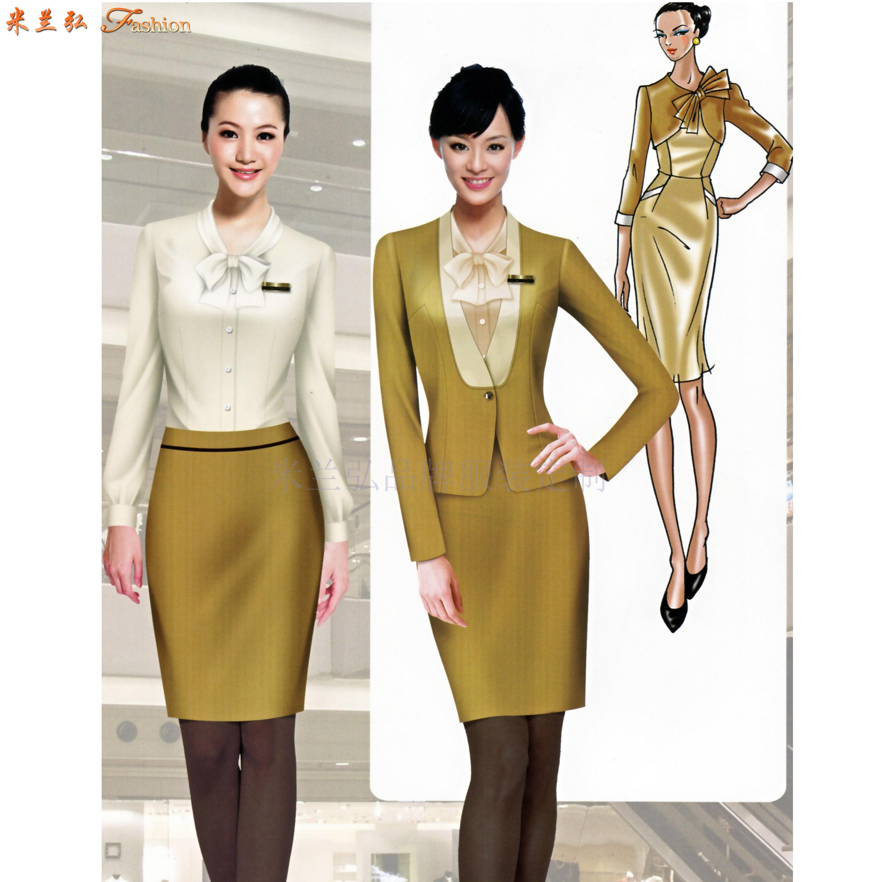 「服装设计」工作服设计的3个性质及类别-米兰弘服装-1
