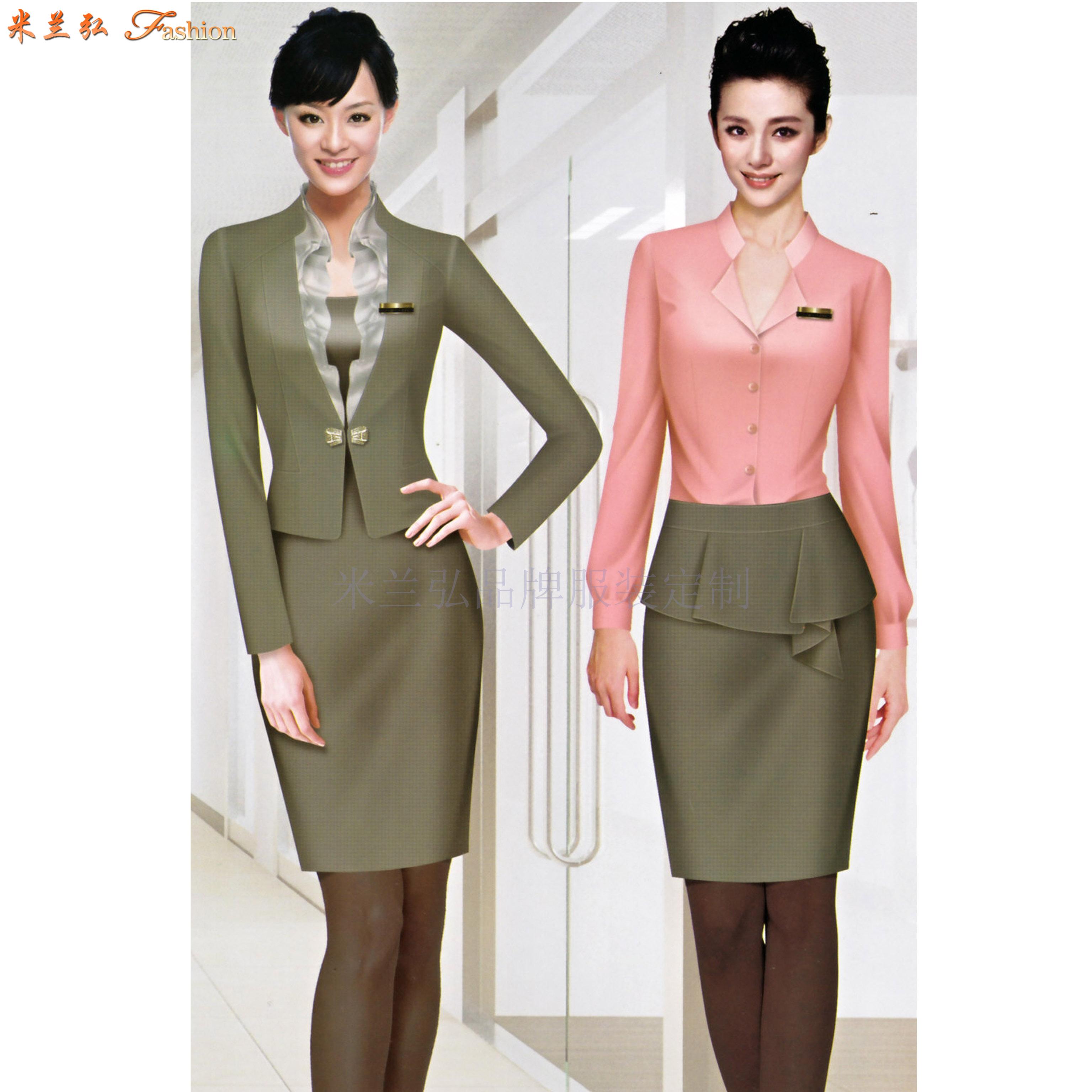 「服装设计」工作服设计的3个性质及类别-米兰弘服装-2