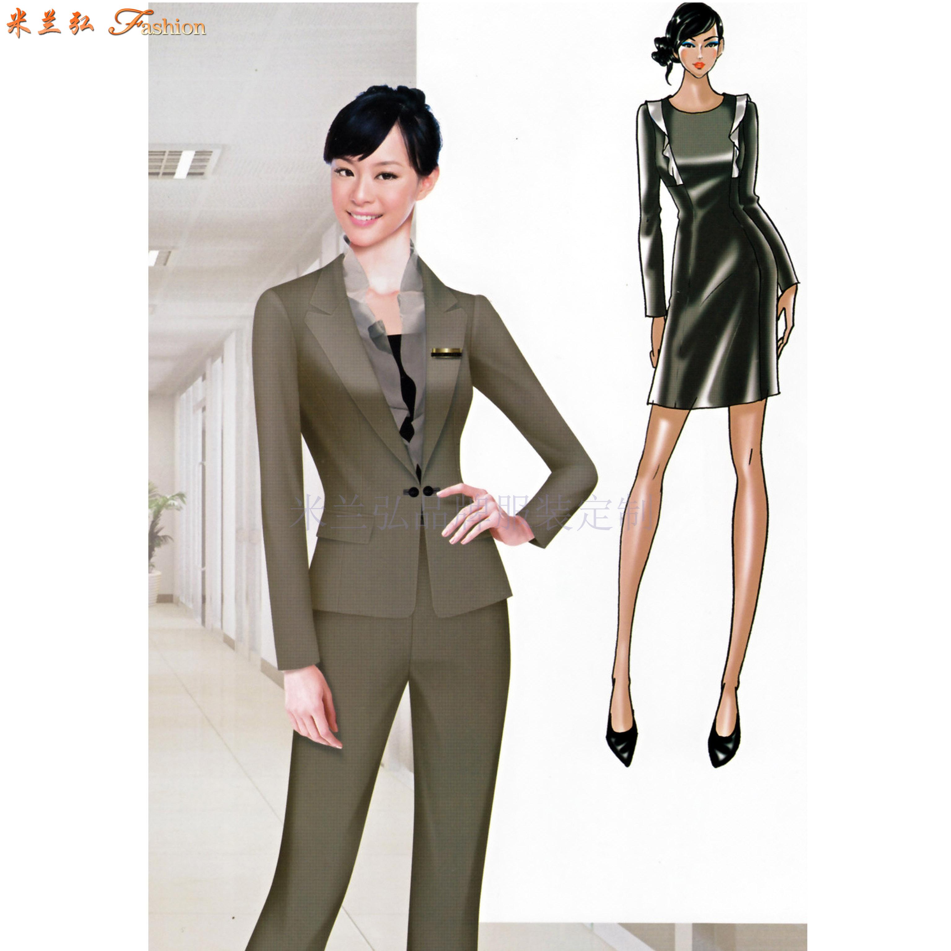 「服装设计」工作服设计的3个性质及类别-米兰弘服装-3