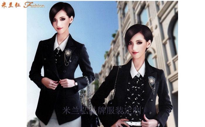 女士冬季職業裝搭配款式套裝_新款潮流女式職業裝-米蘭弘職業裝
