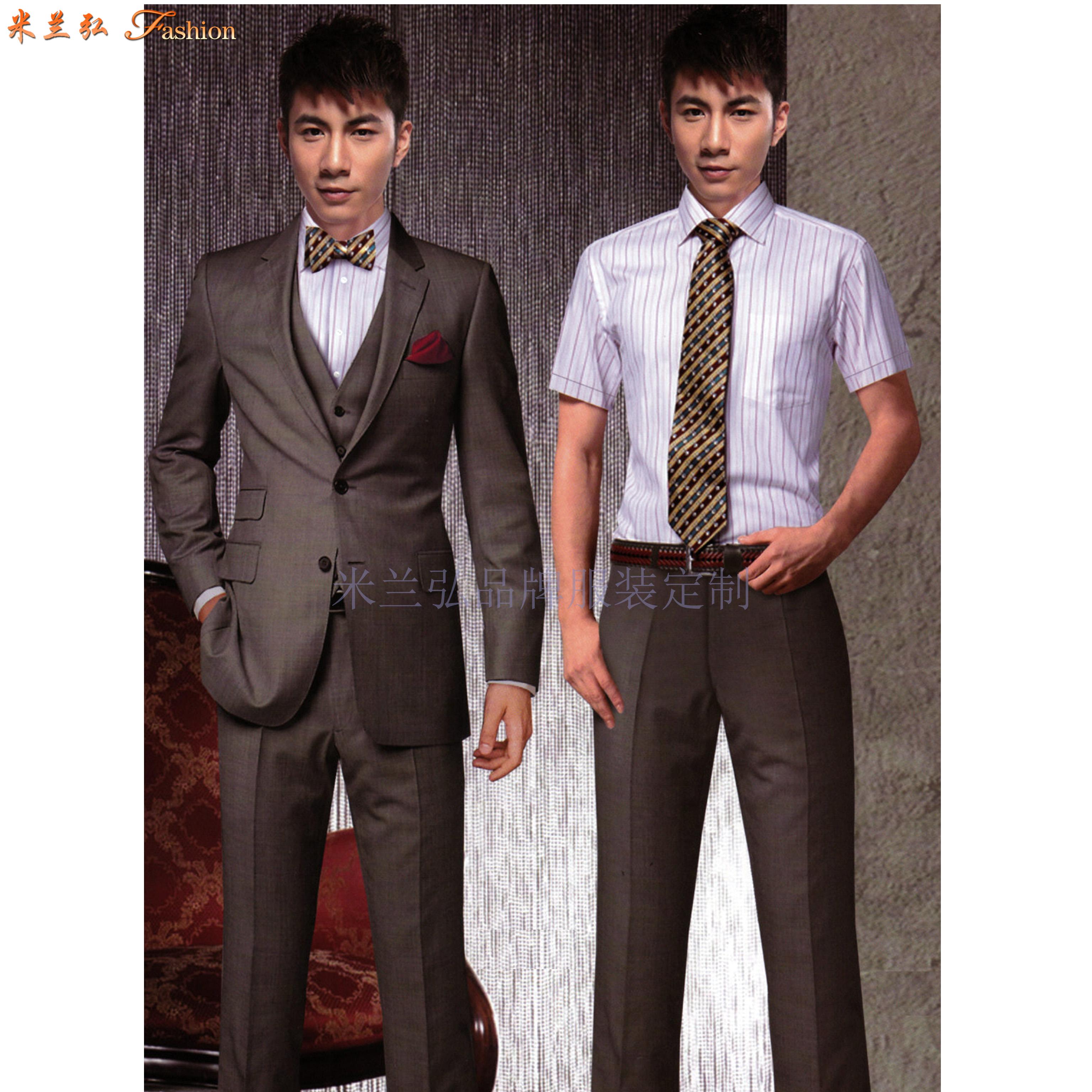 北京西服定制-商務西服訂做價格-米蘭弘服裝-2
