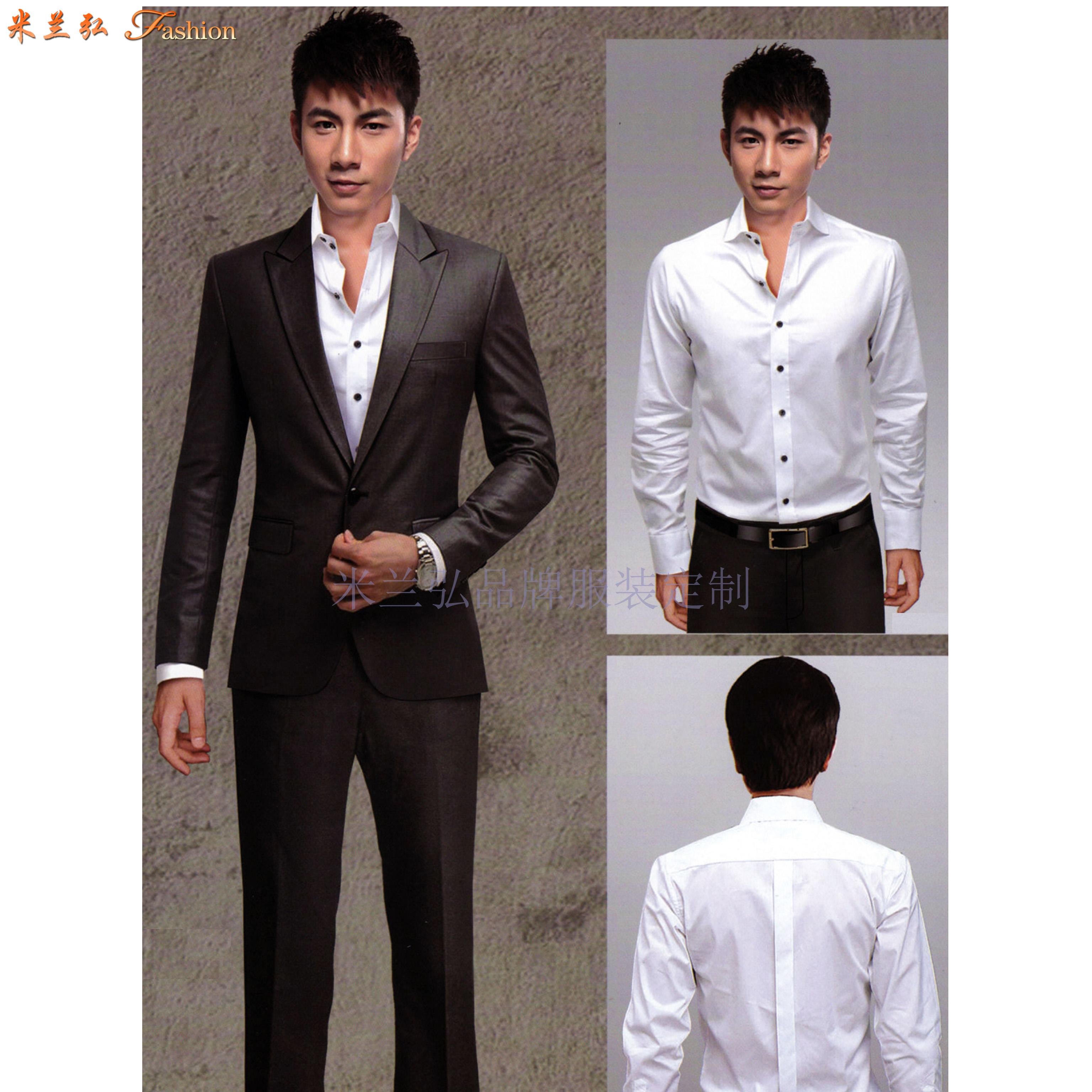北京西服定制-商務西服訂做價格-米蘭弘服裝-5