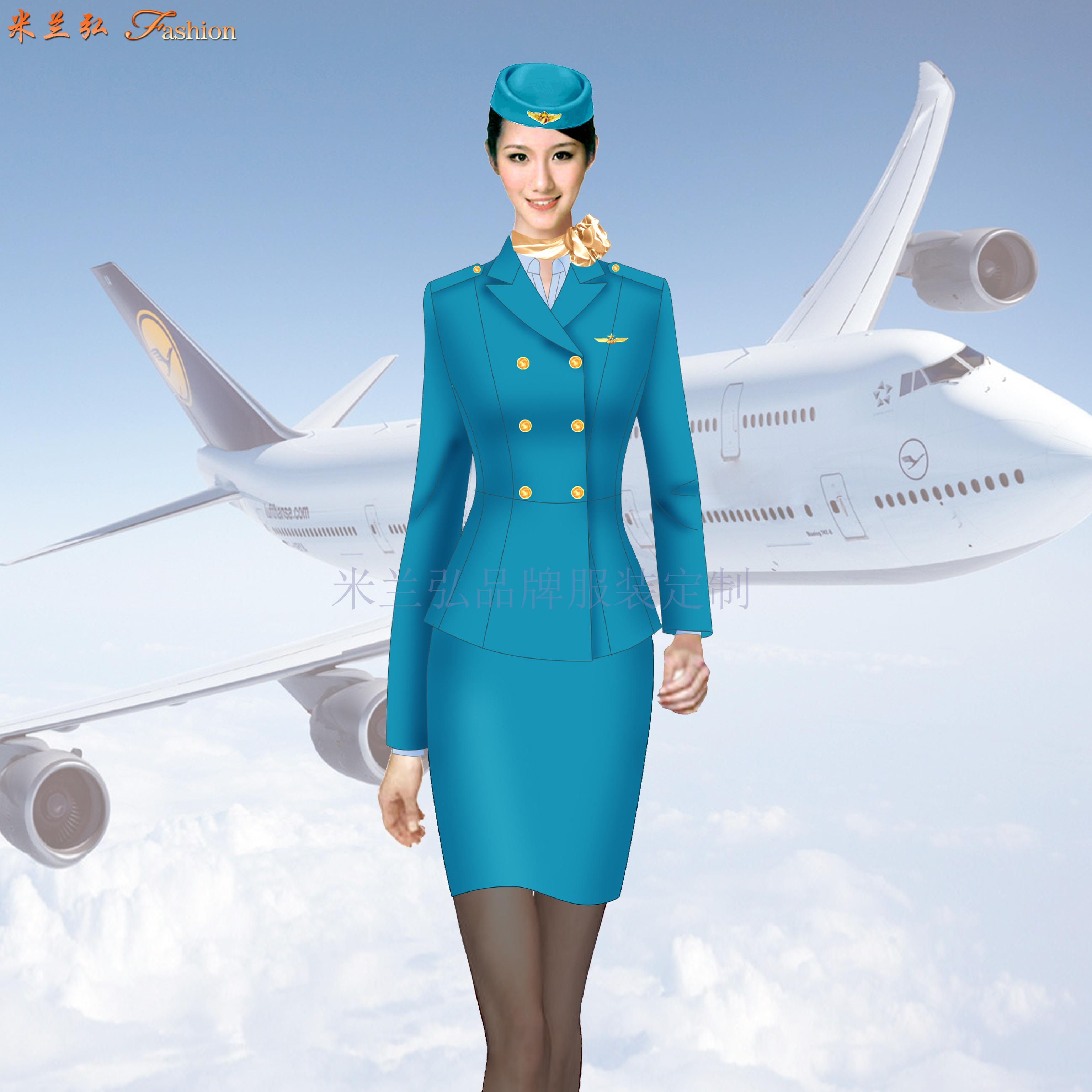 成都空姐服定制-空姐服设计制作公司-米兰弘服装-2
