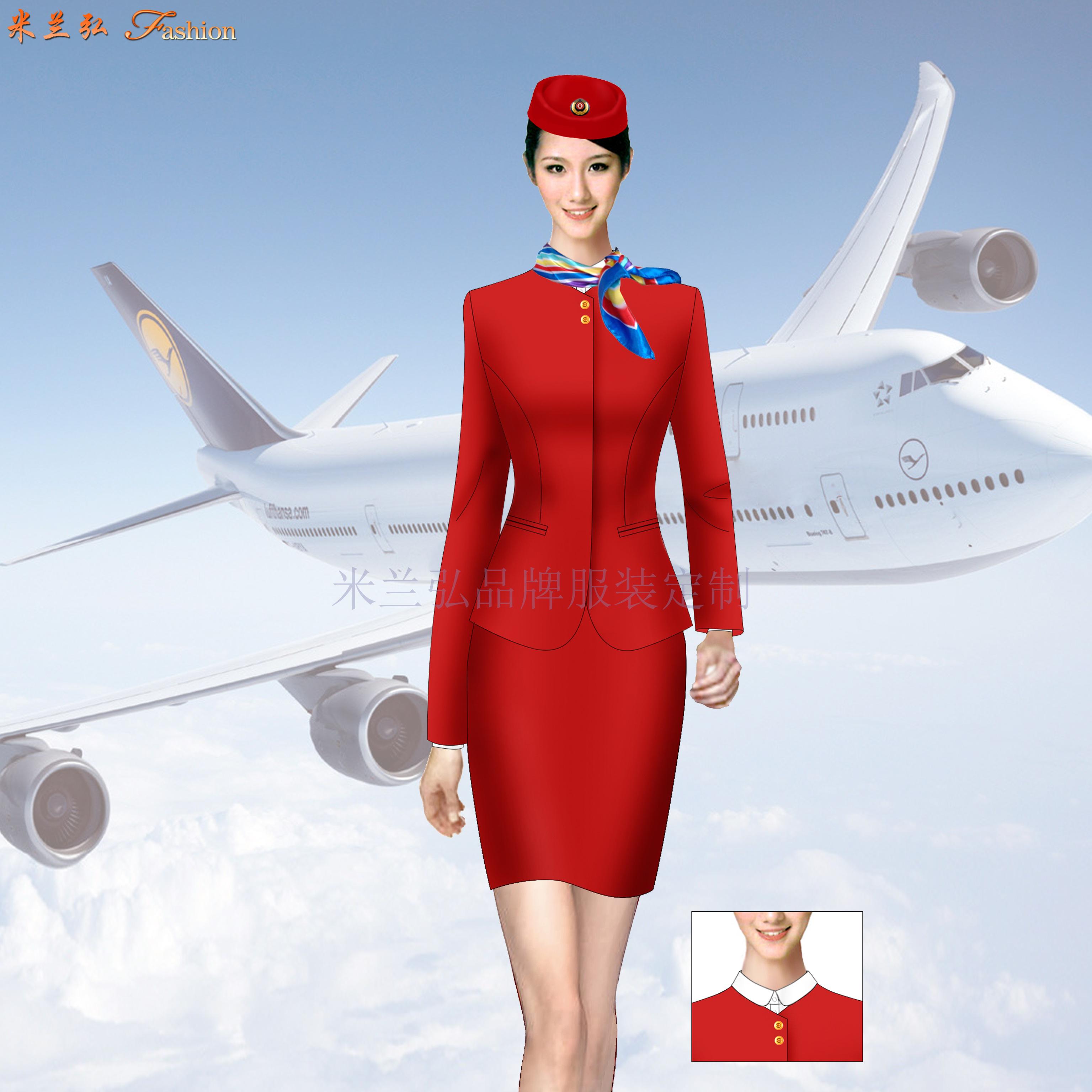 成都空姐服定制-空姐服设计制作公司-米兰弘服装-3