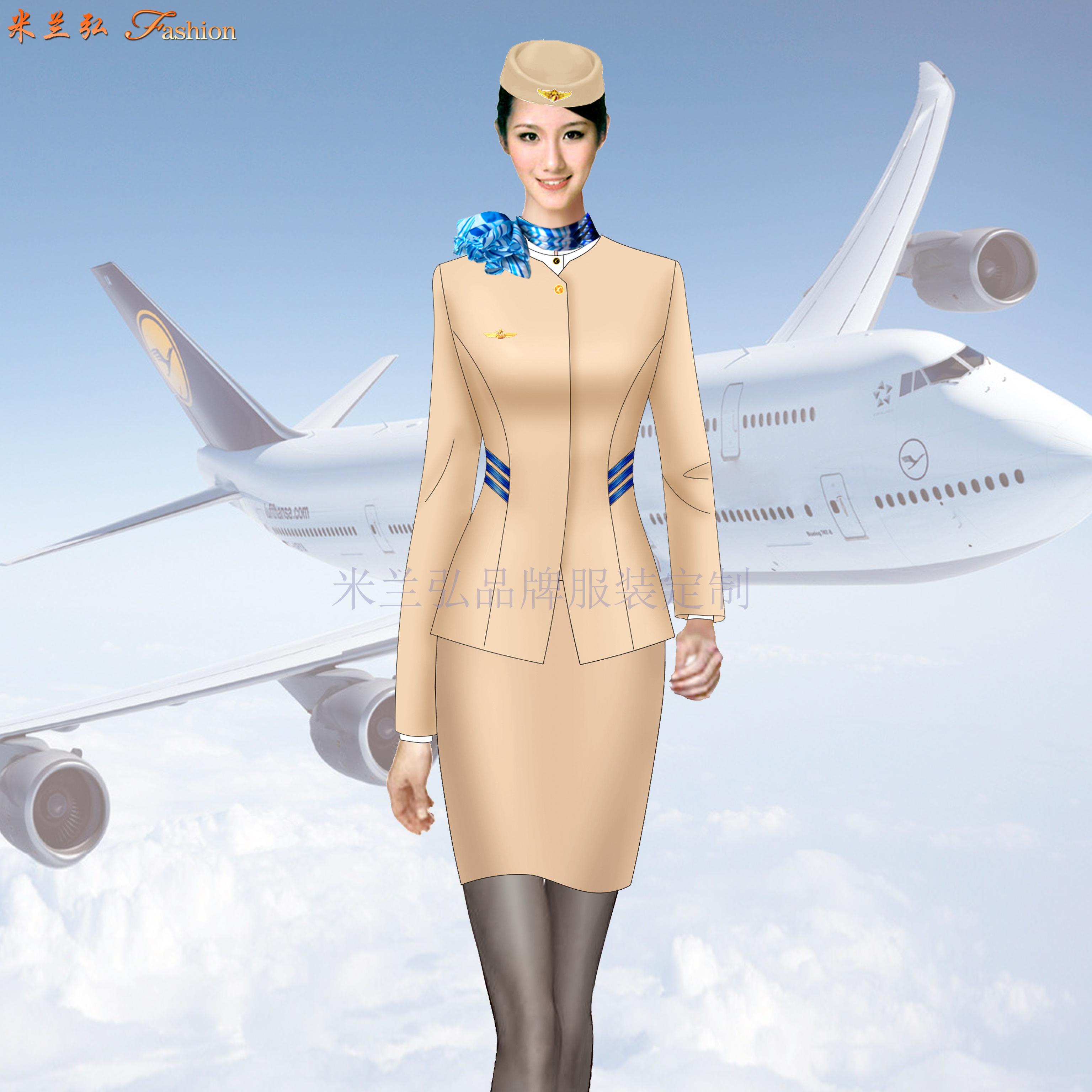 成都空姐服定制-空姐服設計制作公司-米蘭弘服裝-4