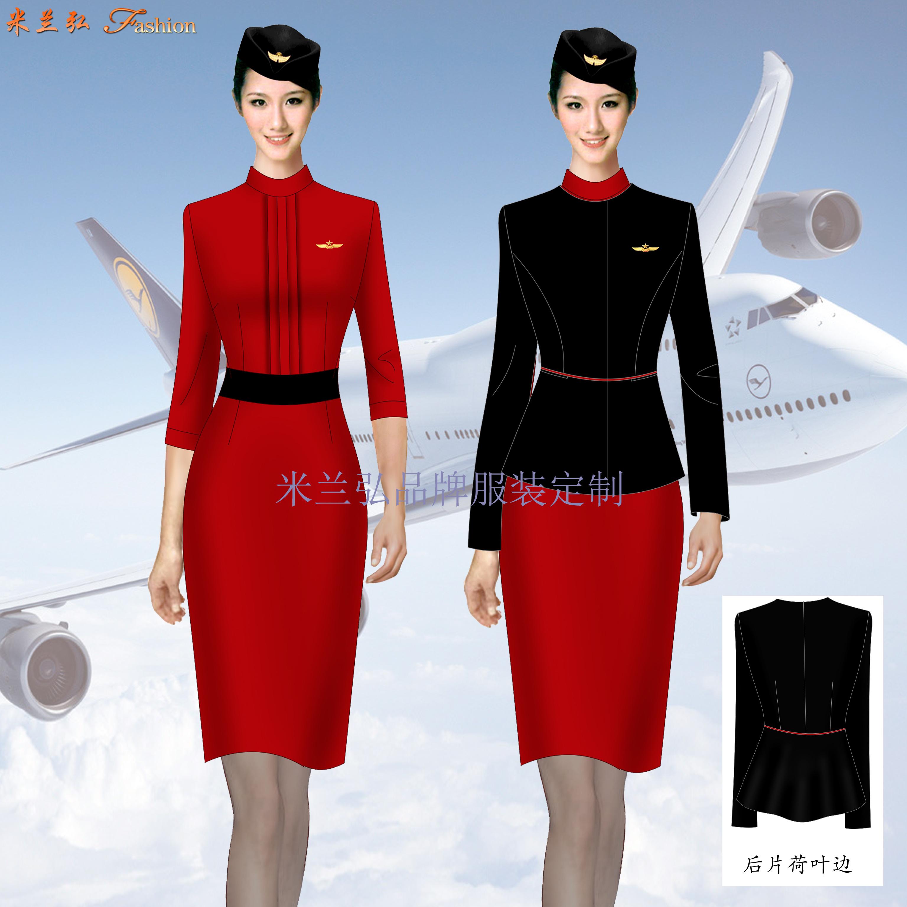 成都空姐服定制-空姐服设计制作公司-米兰弘服装-1