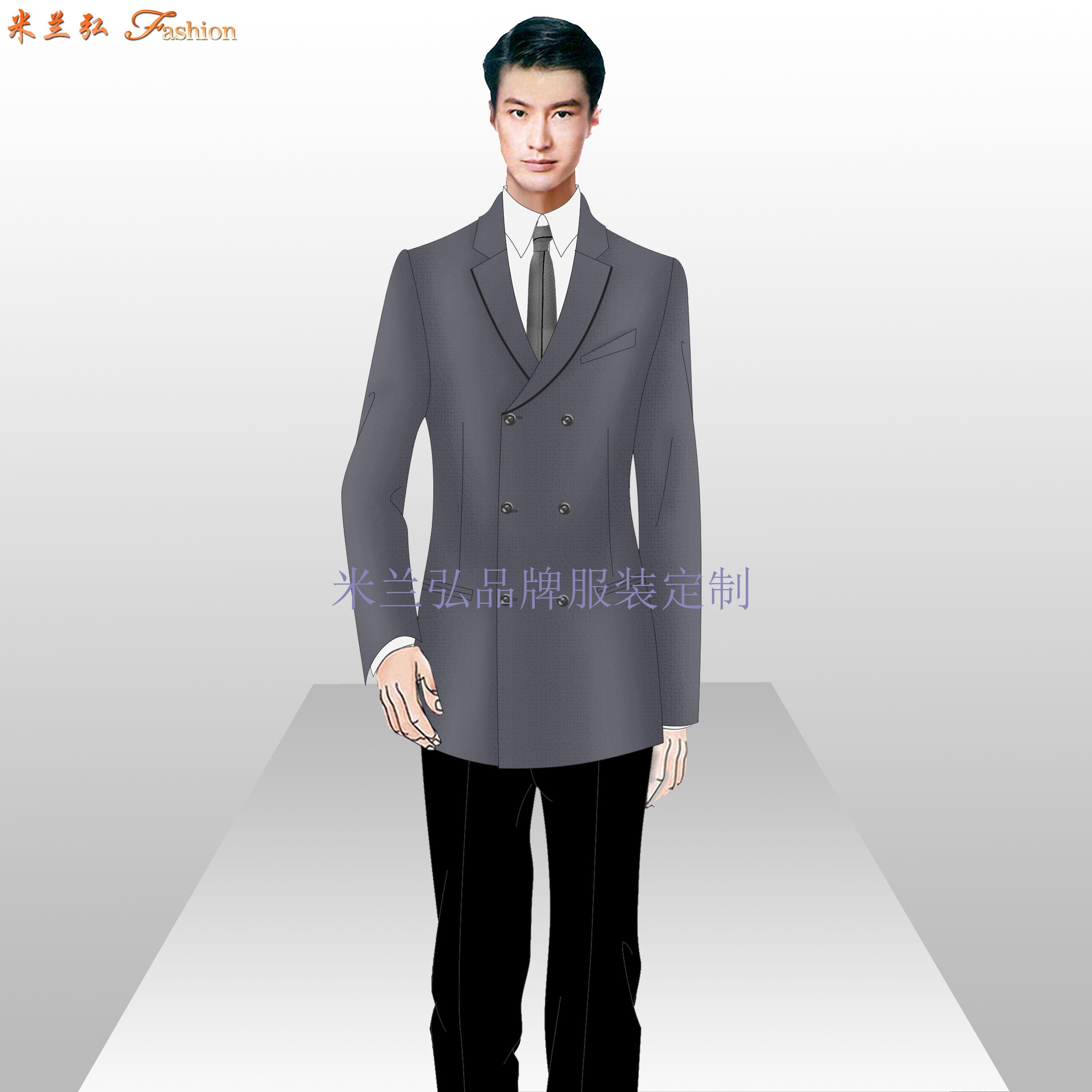 江西职业装定制-品牌职业装订做厂家-米兰弘服装-2