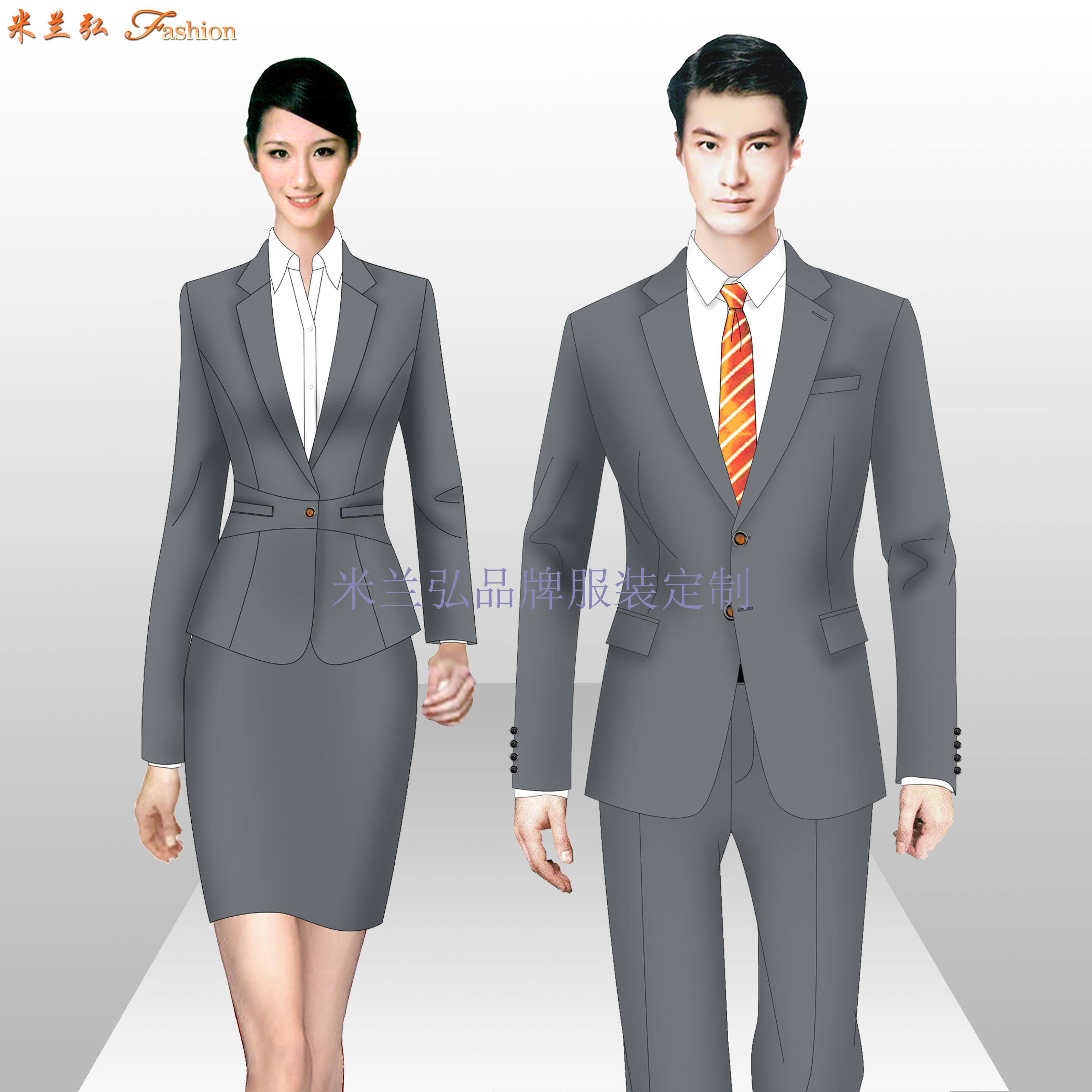 江西职业装定制-品牌职业装订做厂家-米兰弘服装-5