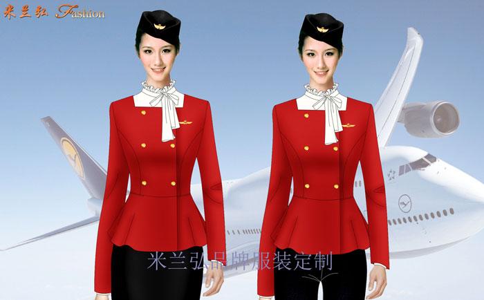 江西机场地勤服装---机场职业装定制---米兰弘服装