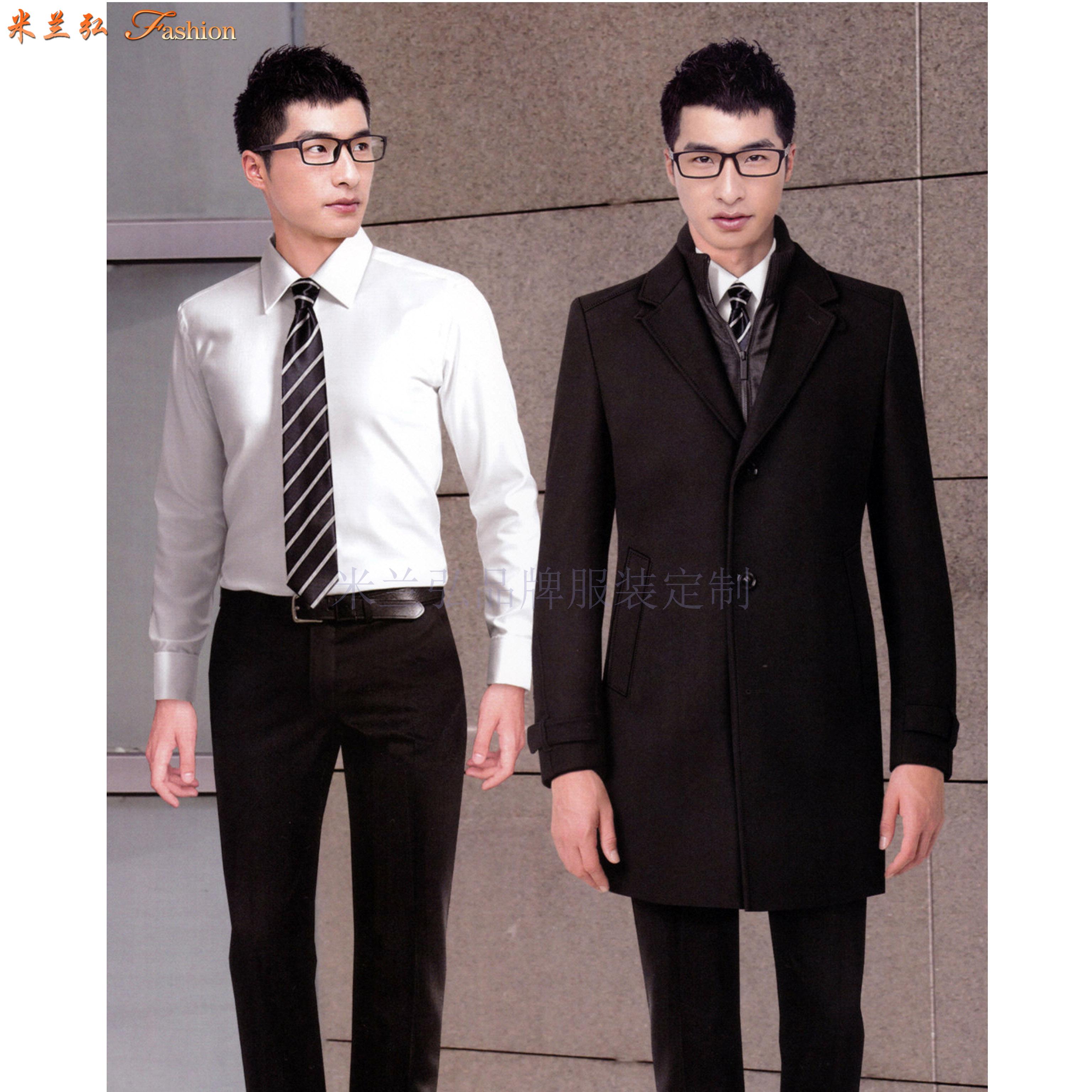 江西大衣定制-男女士呢子大衣訂做價格-米蘭弘服裝-3