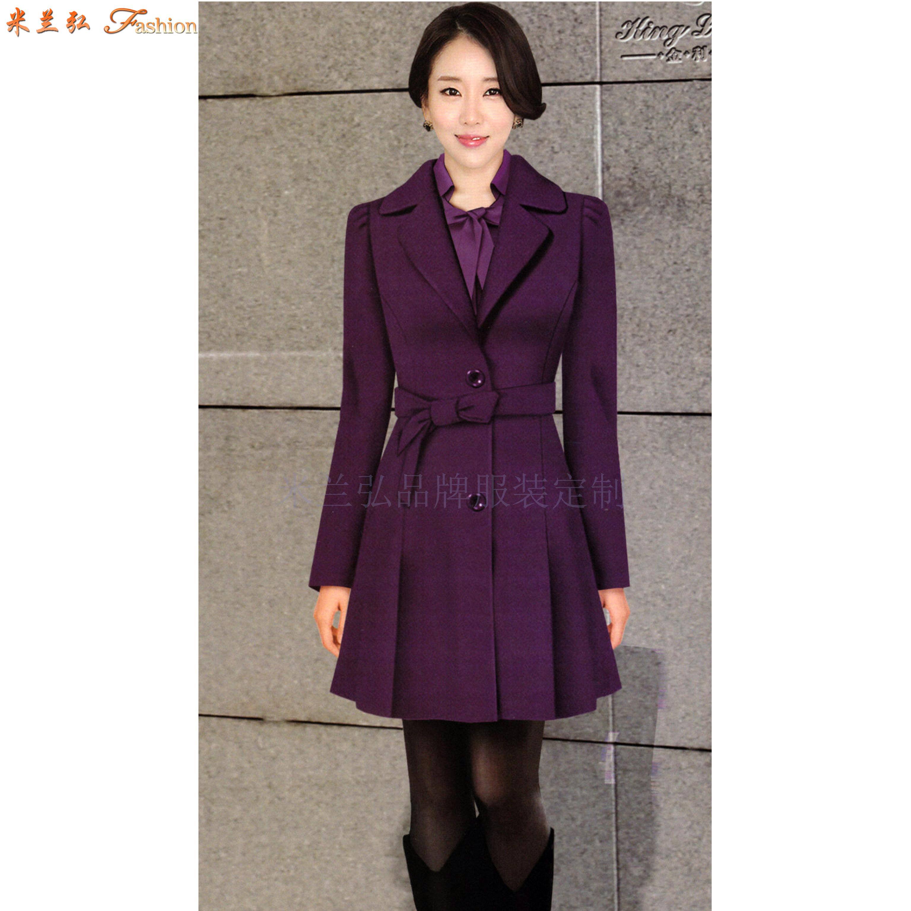 江西大衣定制-男女士呢子大衣訂做價格-米蘭弘服裝-4