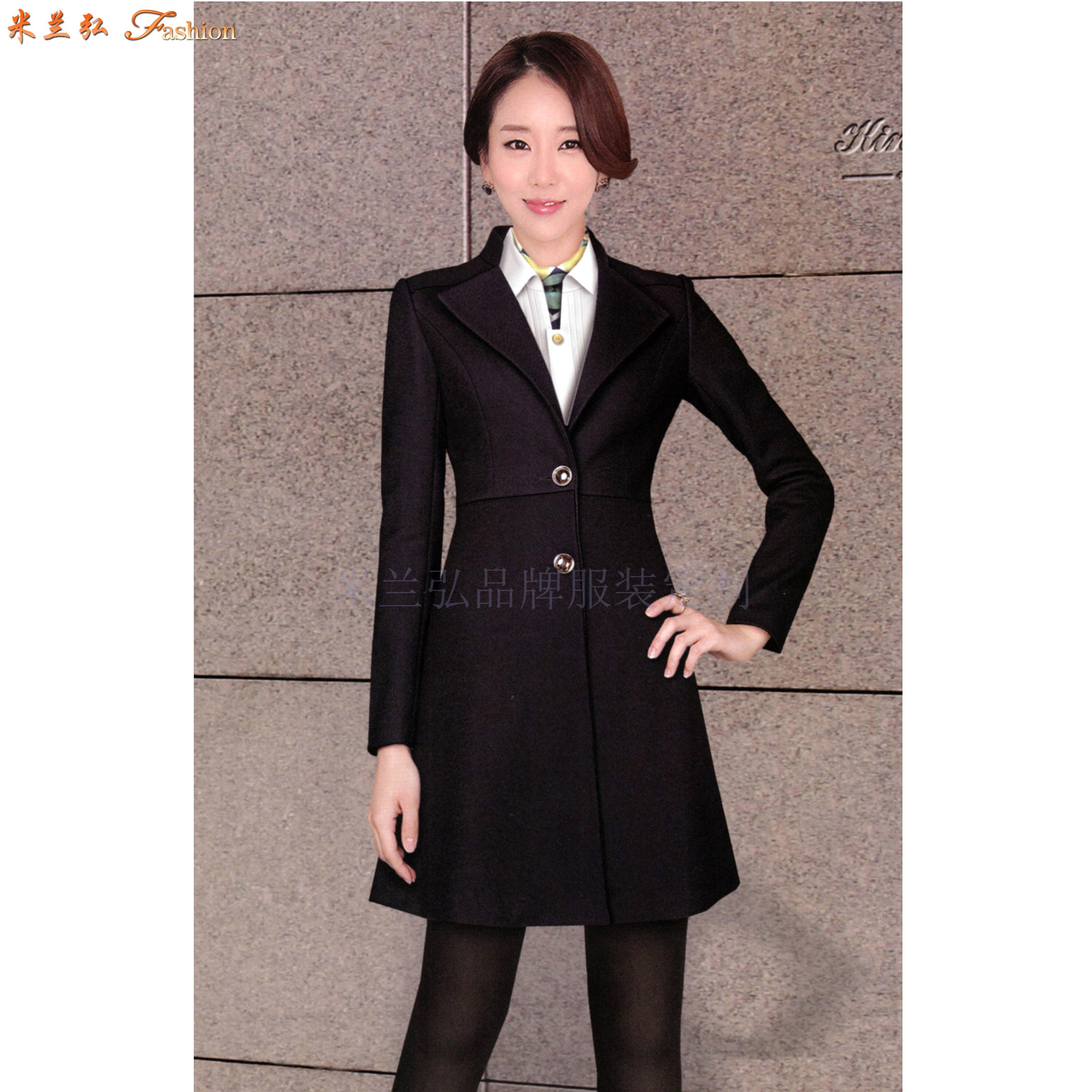 江西大衣定制-男女士呢子大衣訂做價格-米蘭弘服裝-5