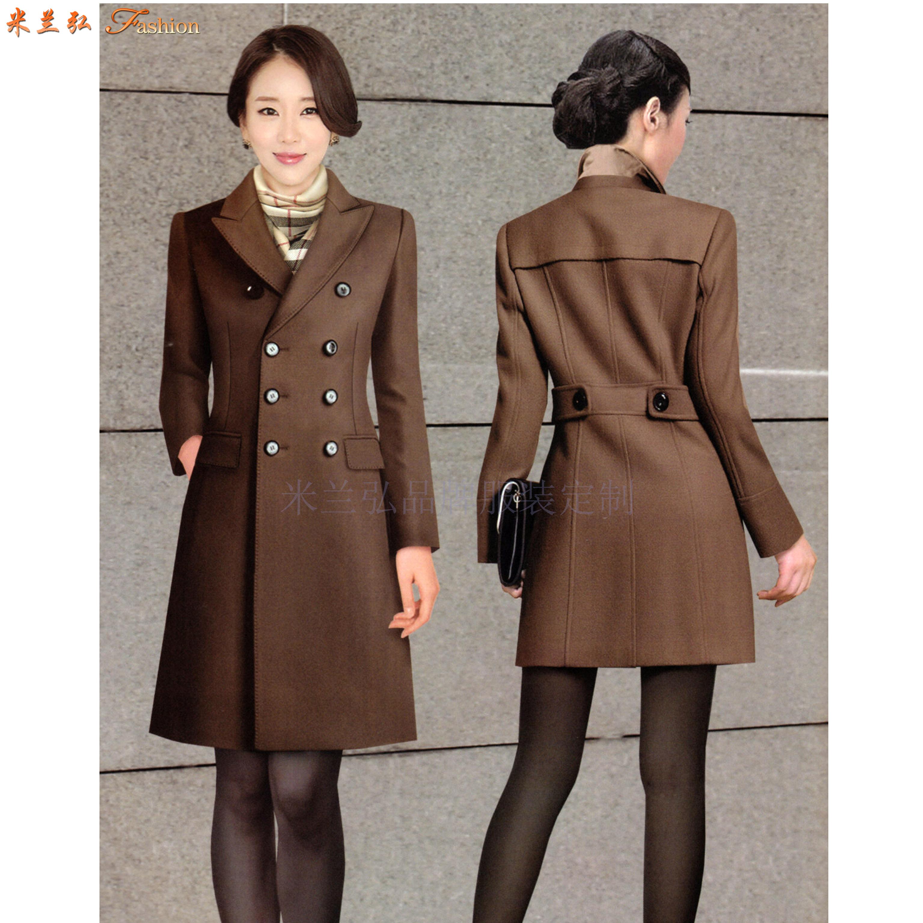 江西大衣定制-男女士呢子大衣訂做價格-米蘭弘服裝-1