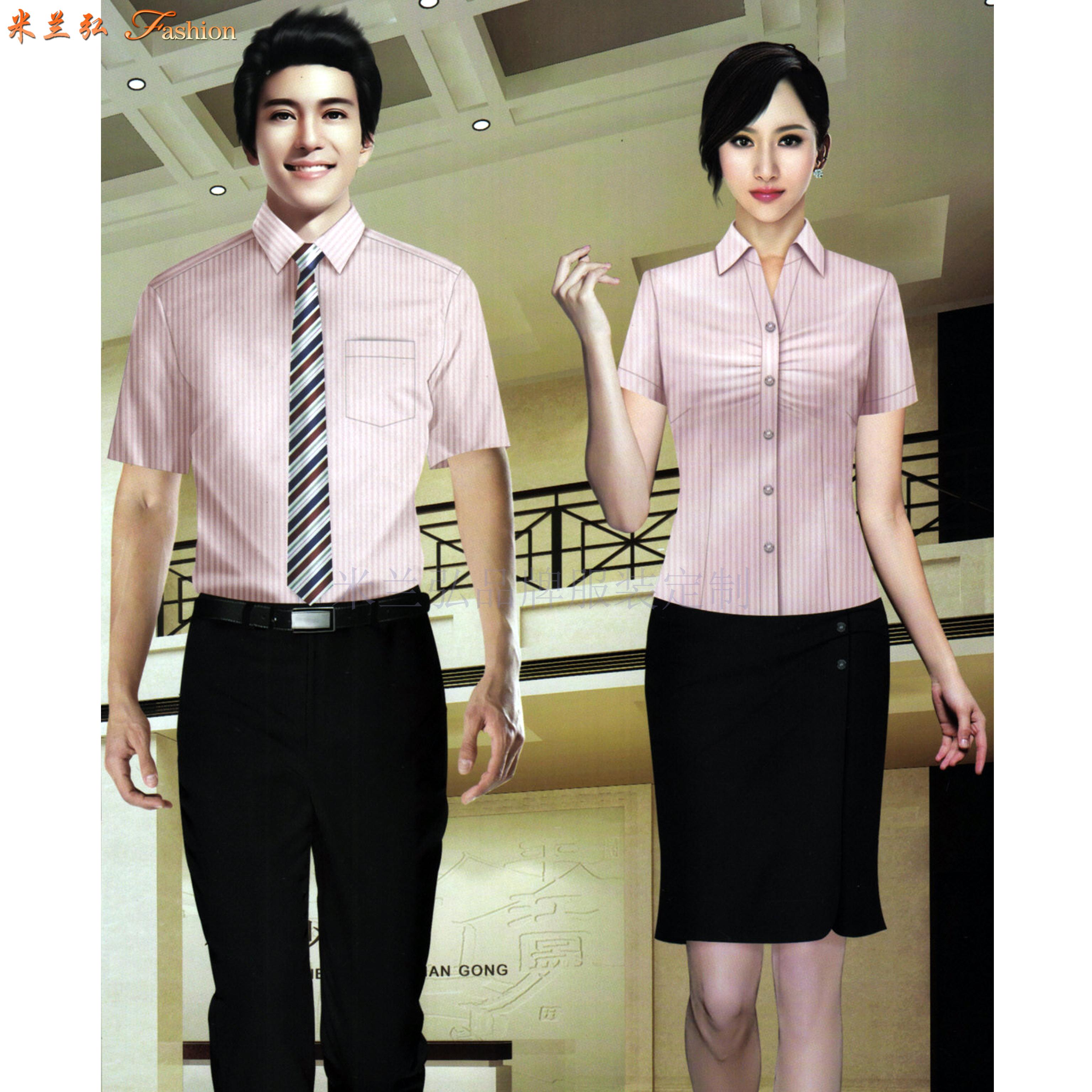 江西定制襯衫-定做免燙襯衫品牌-米蘭弘服裝-5