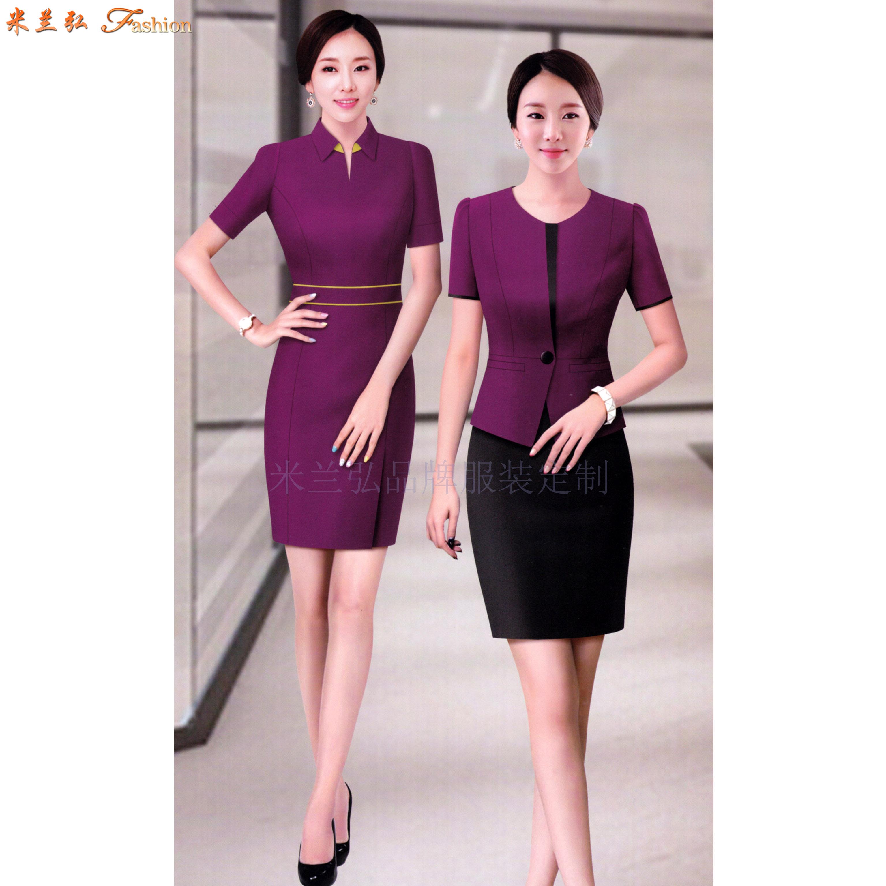 江西連衣裙定制-職業連衣裙訂做價錢-米蘭弘服裝-3