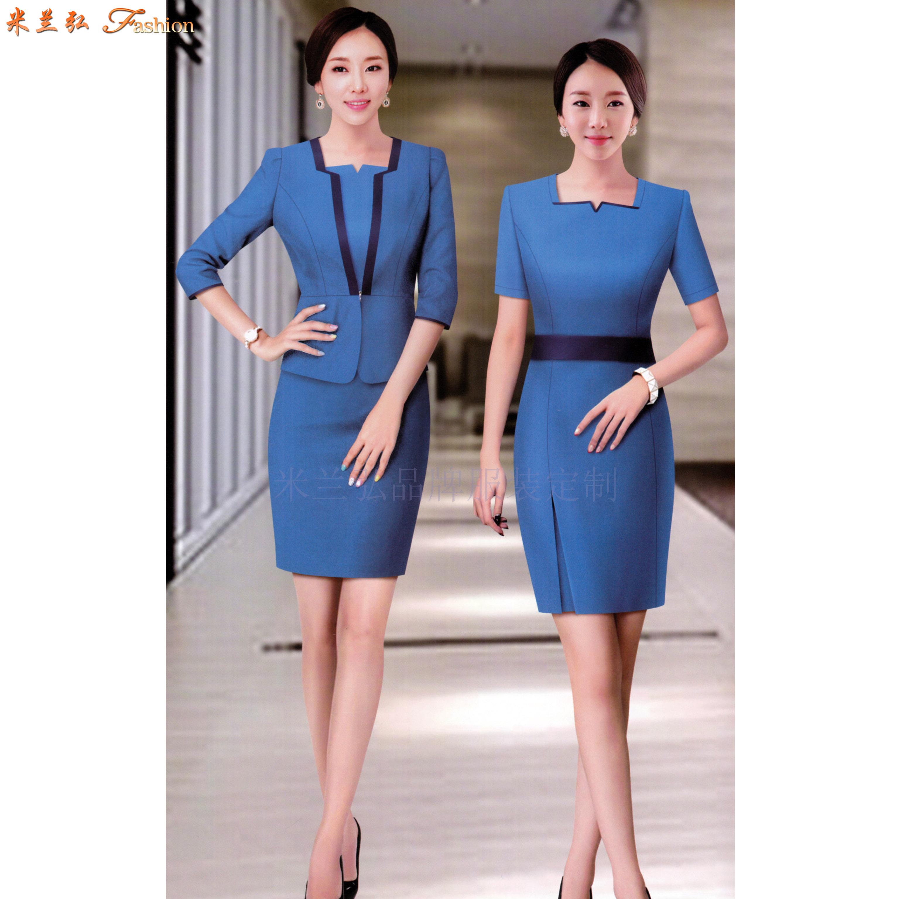 江西連衣裙定制-職業連衣裙訂做價錢-米蘭弘服裝-1