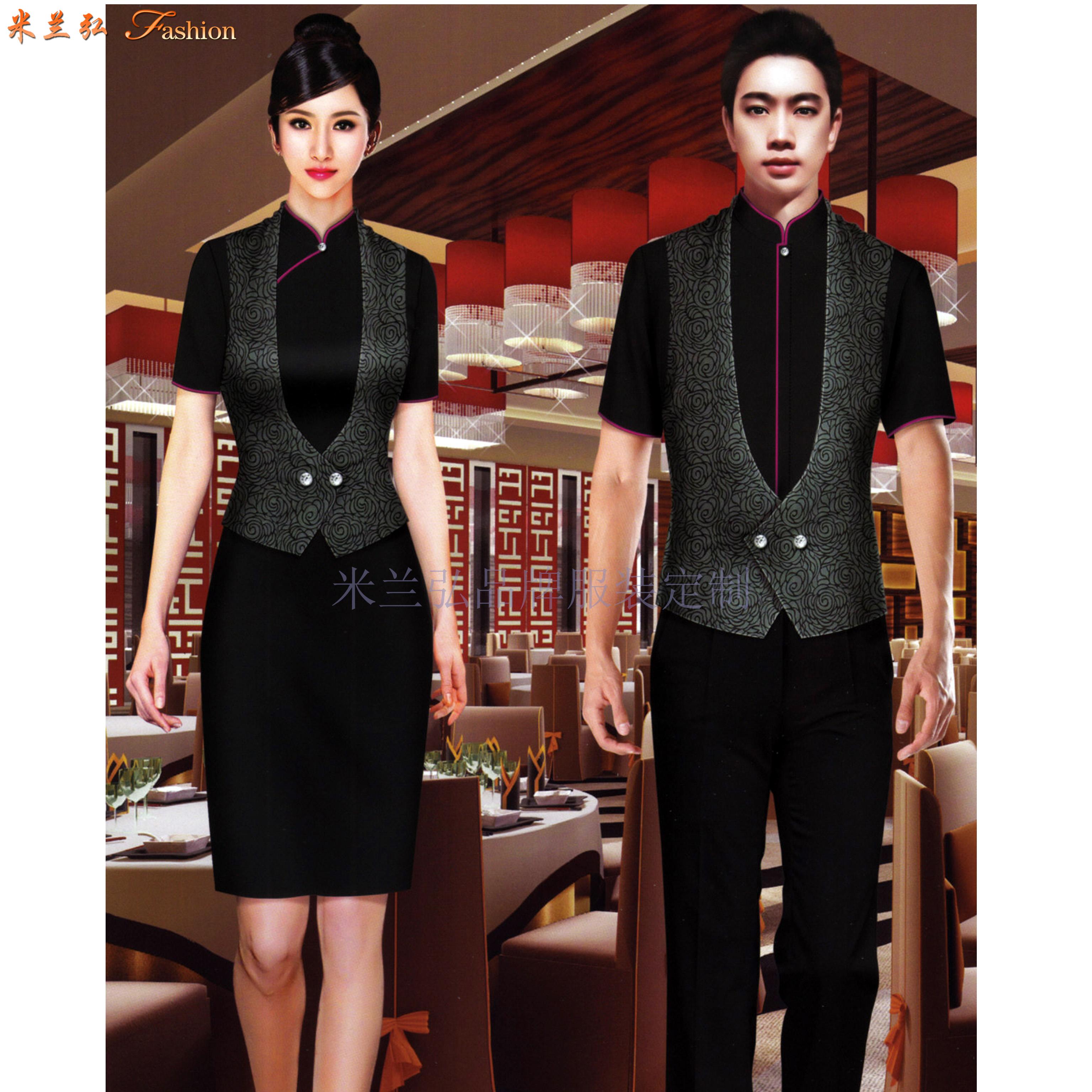 江西酒店服裝定做-餐飲工作服訂制價格-米蘭弘服裝-3
