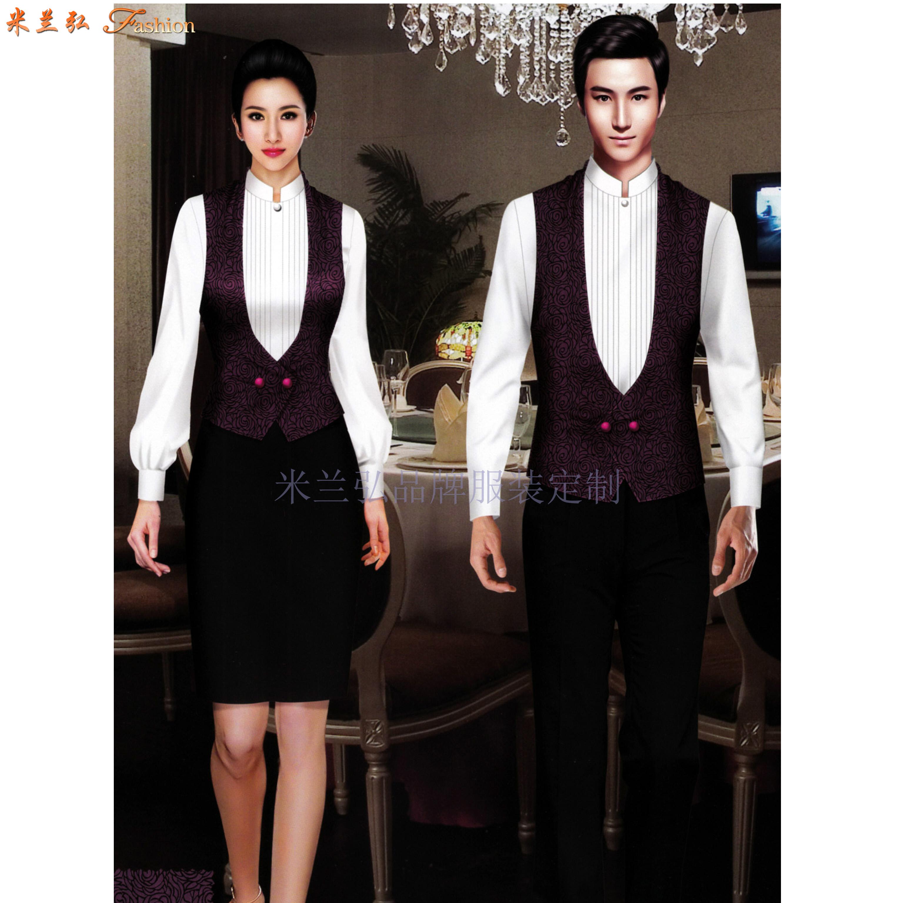 江西酒店服裝定做-餐飲工作服訂制價格-米蘭弘服裝-4