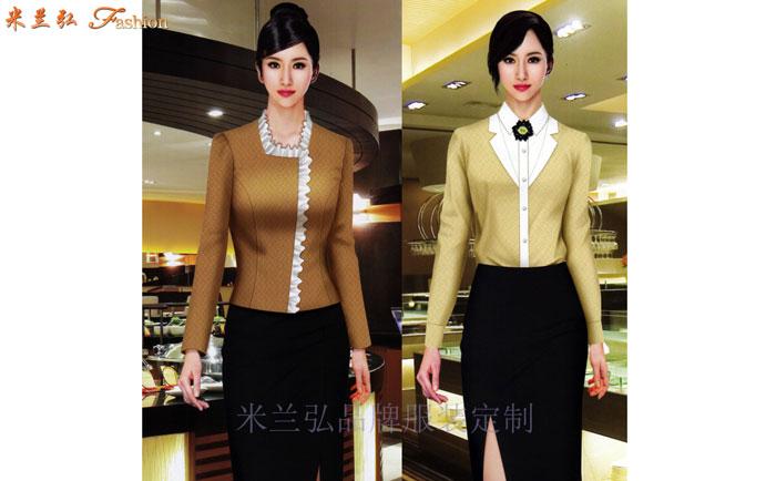 江西酒店服裝定做---餐飲工作服訂制價格---米蘭弘服裝