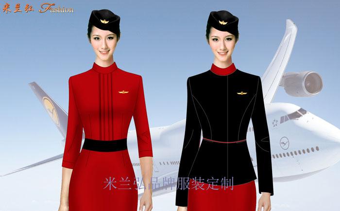 高鐵連衣裙定做-高鐵乘務員連衣裙搭配圖片---米蘭弘廠家