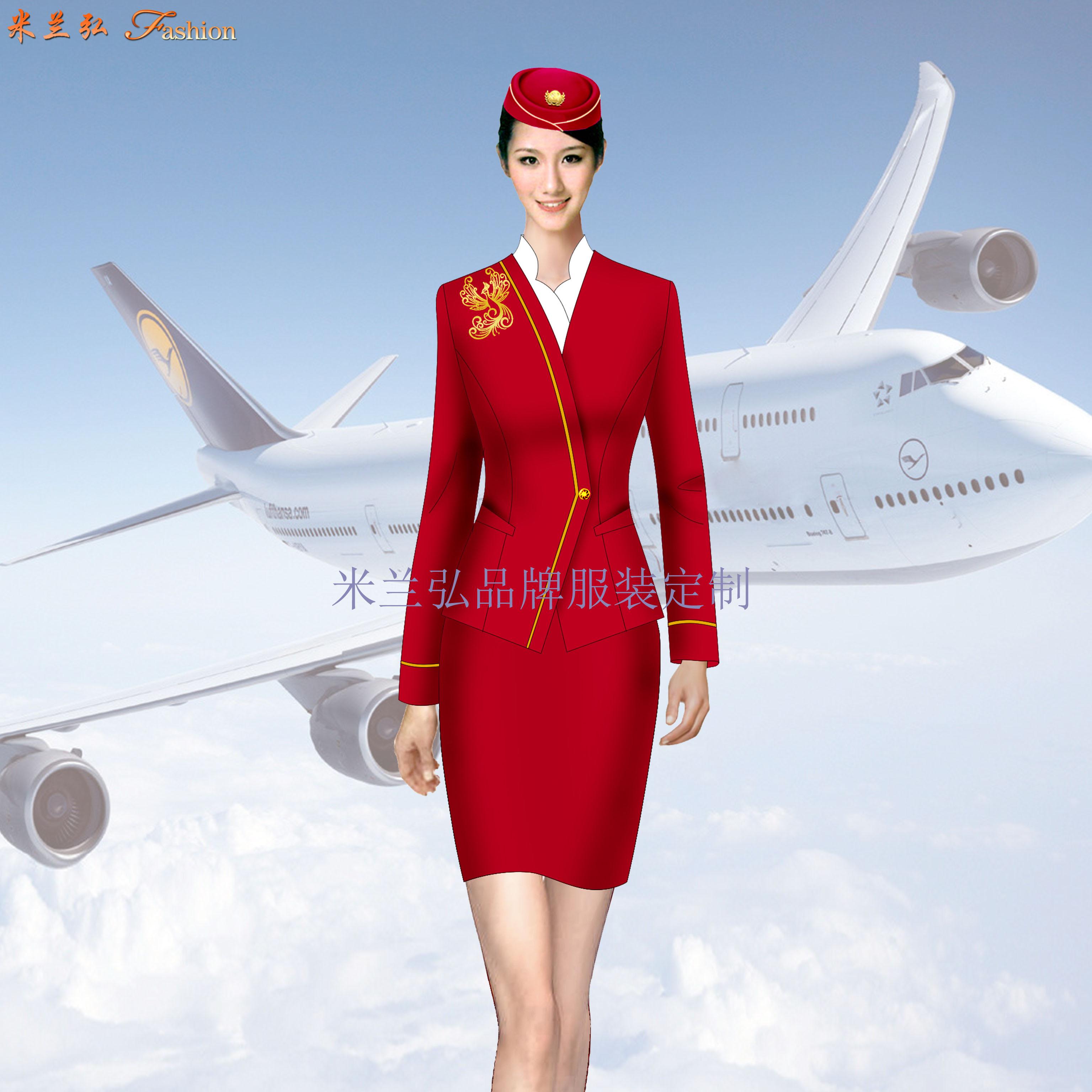 ⎛武汉空姐服⎞武汉空姐服定制-蓝冠注册空姐服厂家-3