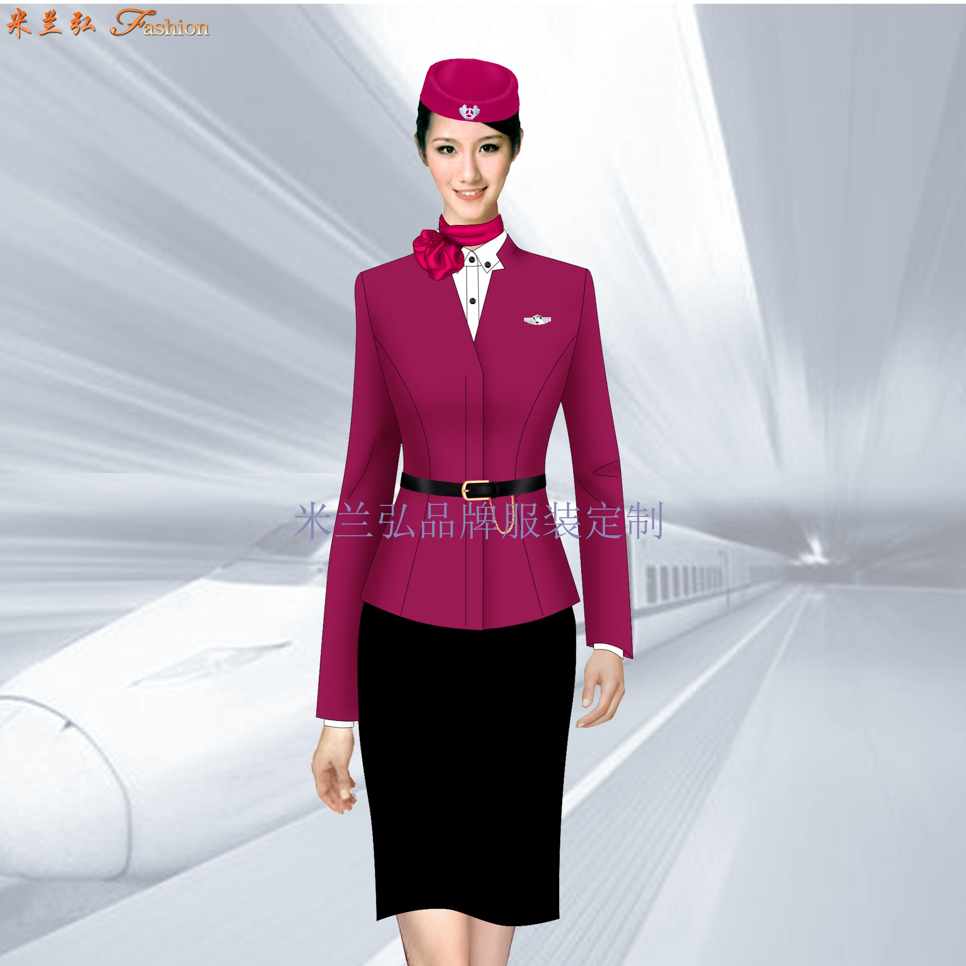 武汉高铁服装-武汉高铁工作服定制-蓝冠注册工服厂家-5