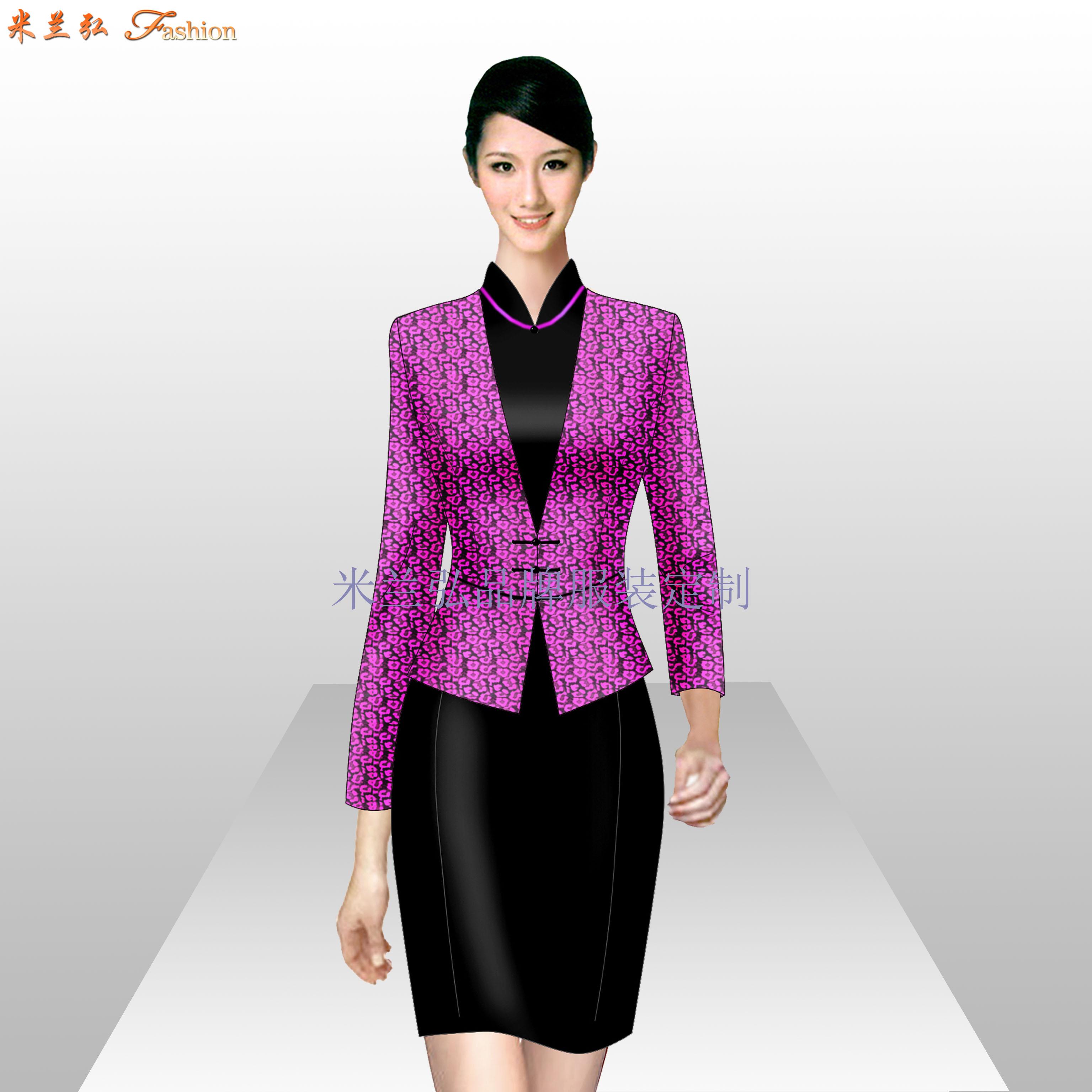Ladiessuit女士西服套装时尚新款-蓝冠注册厂家-2