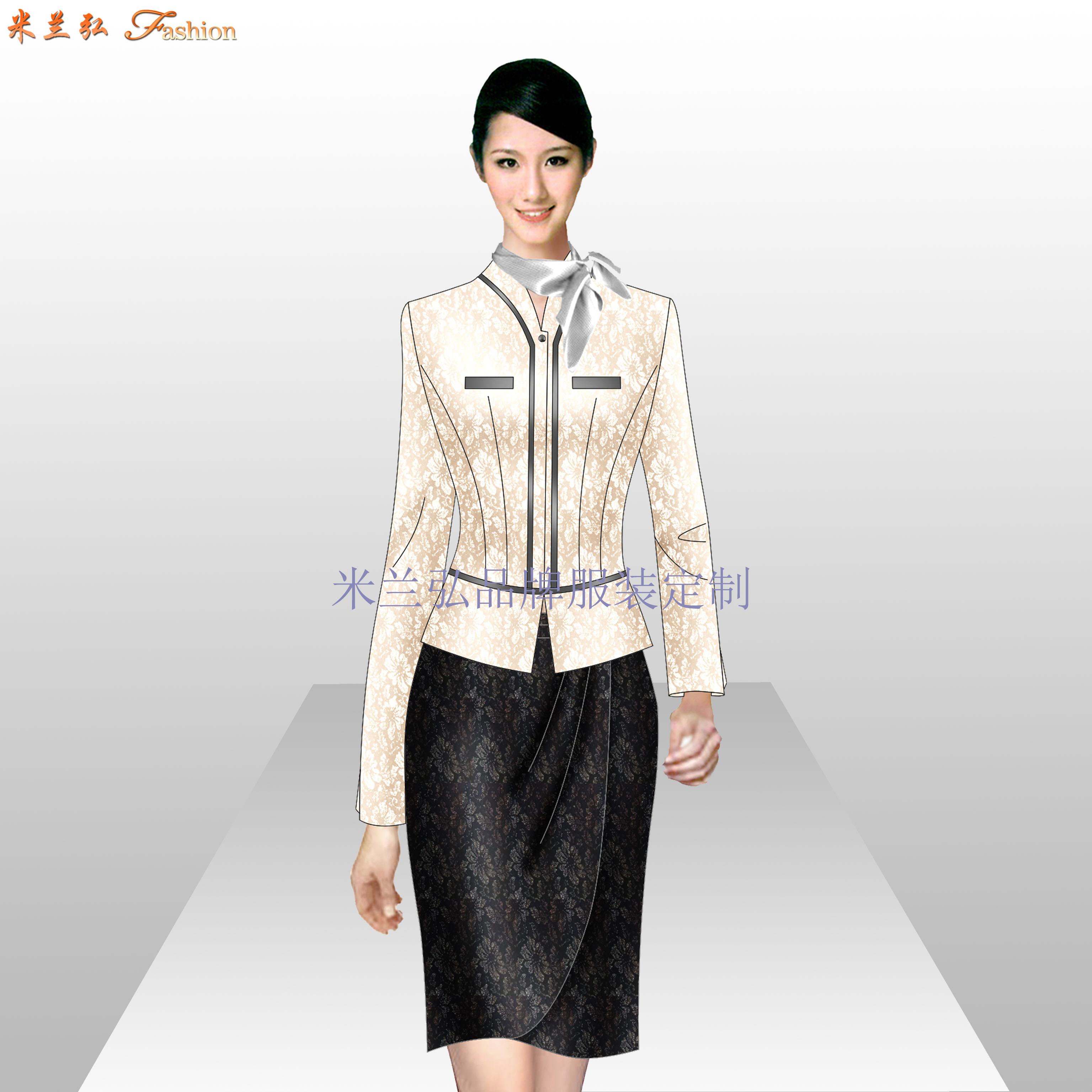 Ladiessuit女士西服套装时尚新款-蓝冠注册厂家-4