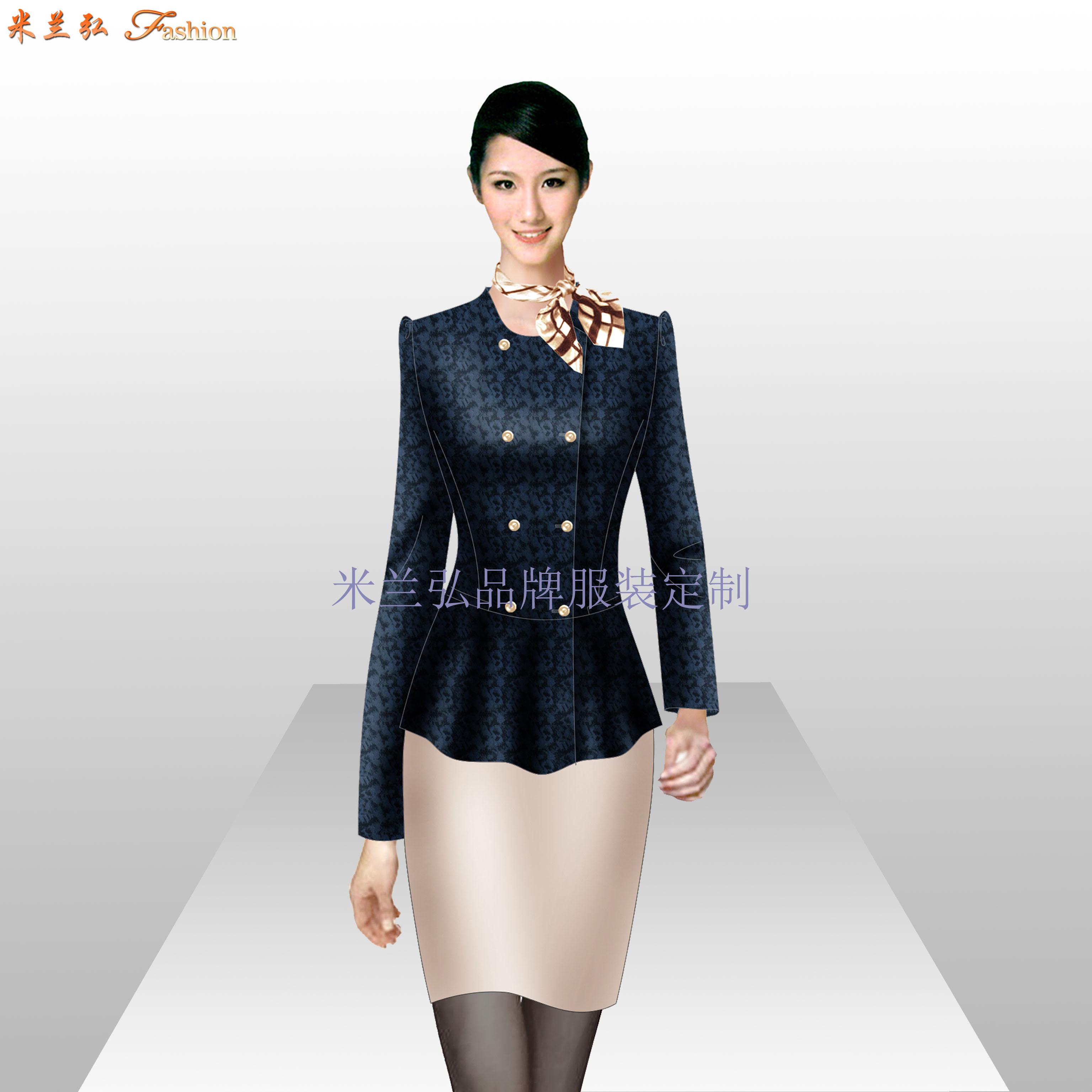 Ladiessuit女士西服套装时尚新款-蓝冠注册厂家-5