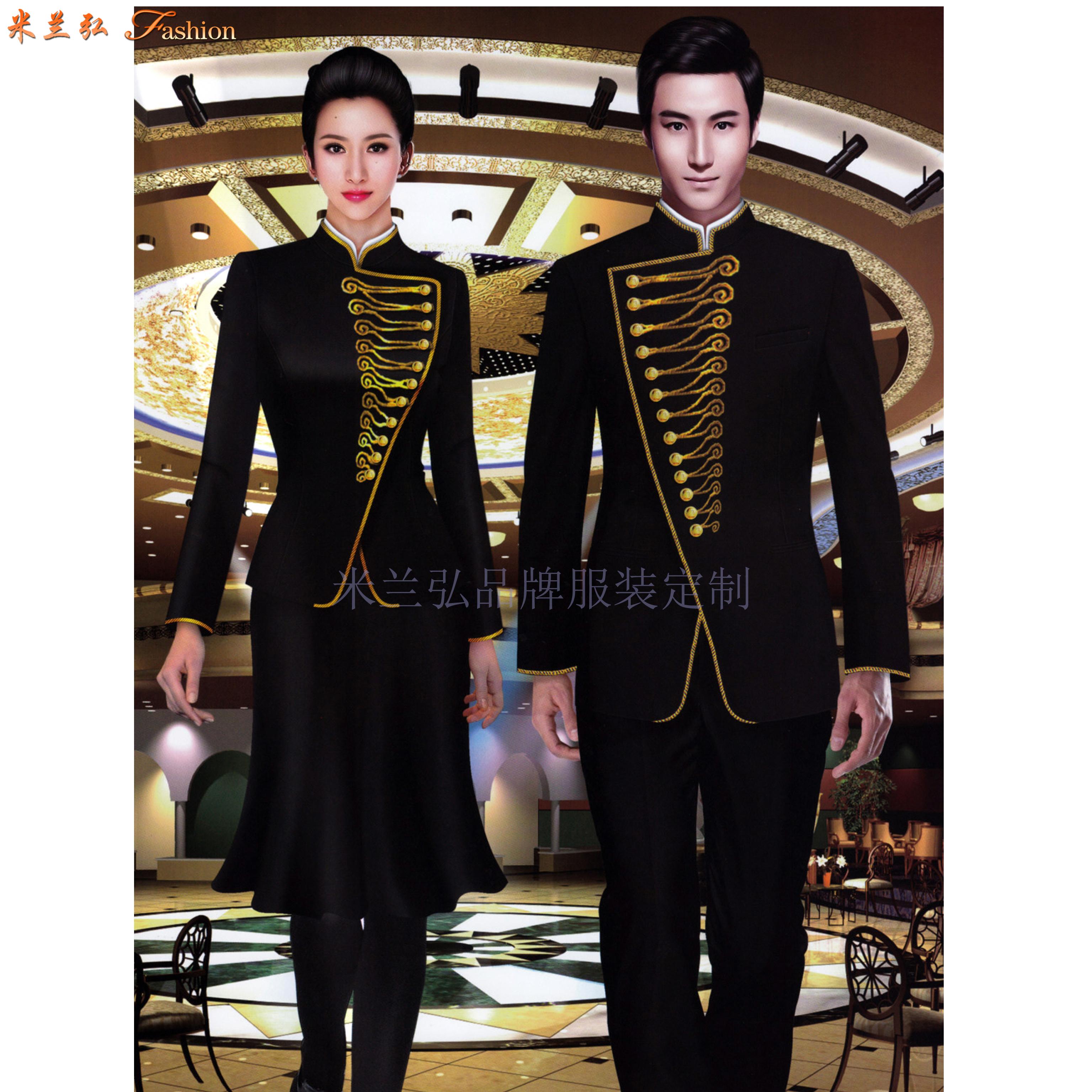 山西酒店制服,山西五星酒店工作制服订做厂家-1