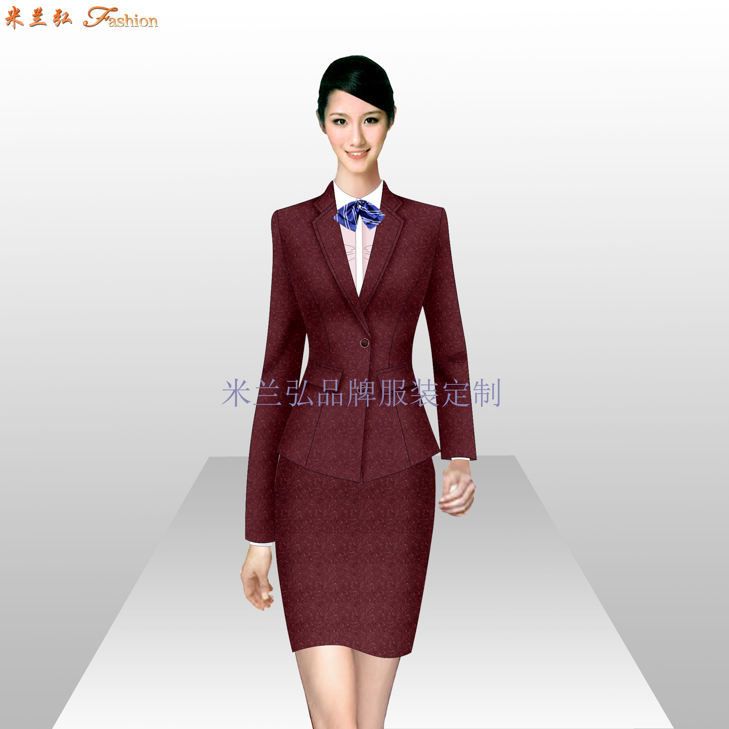 太原正装定制,太原女士职业装订做-蓝冠注册厂家-5