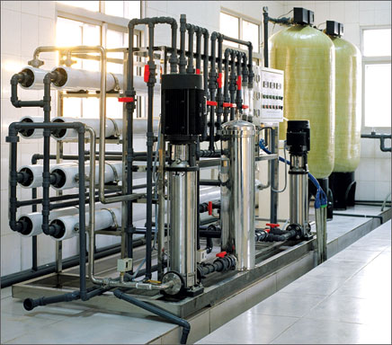 工业反渗透EDI超纯水设备-10吨医药用工业反渗透纯化水设备-14234R942-0