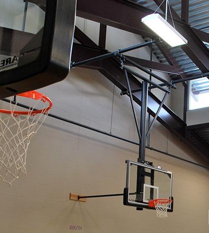 领先凯锐悬挂式篮球架价格