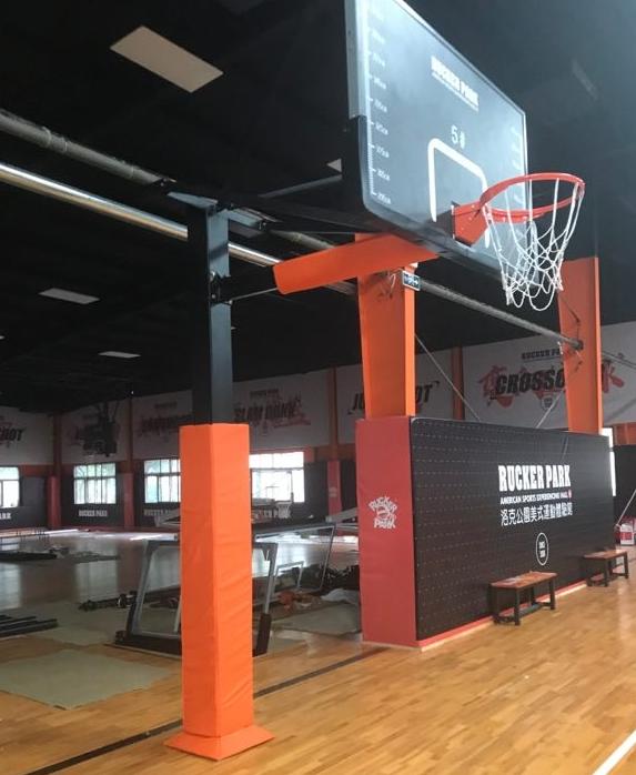 深圳固定式篮球架