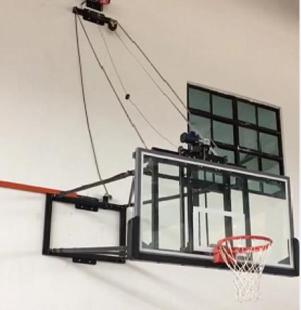 深圳壁挂式篮球架